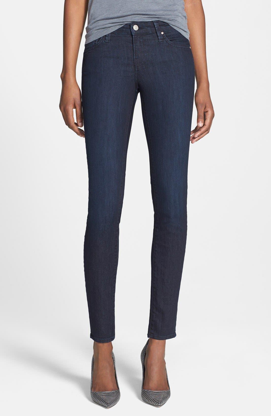 Low Rise Skinny Jeans,                             Main thumbnail 3, color,