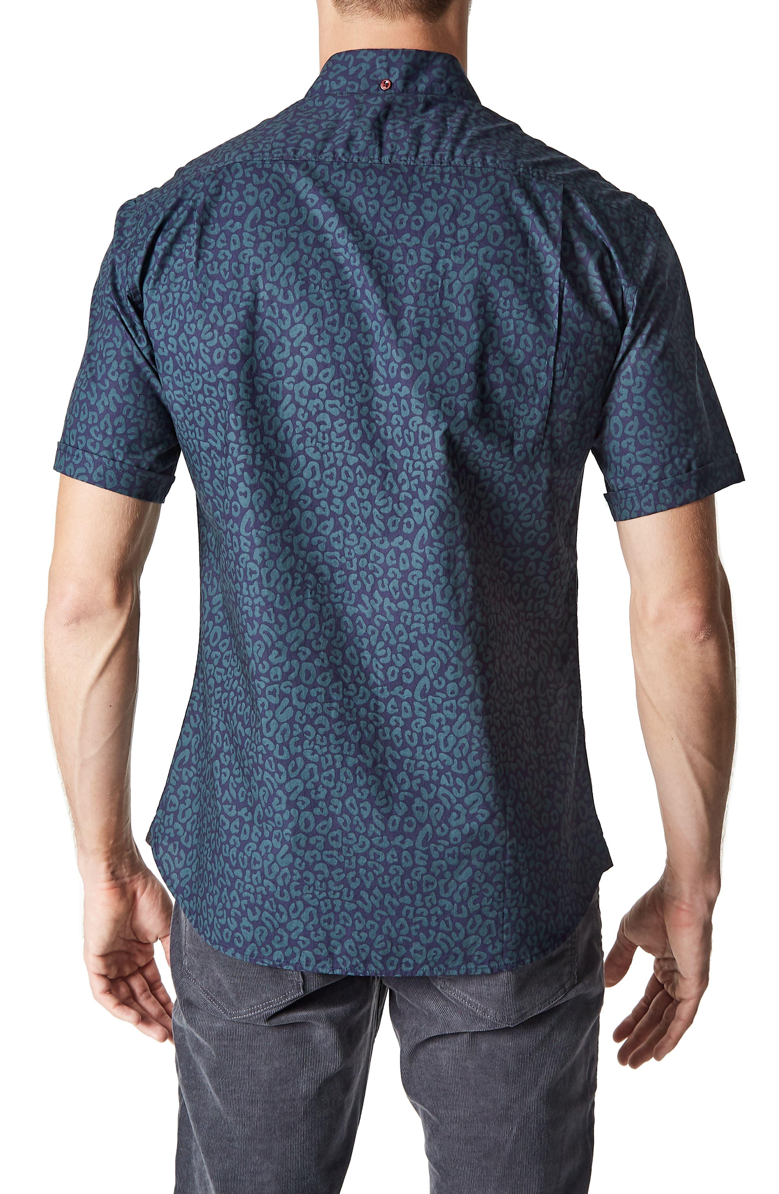 Radio Active Woven Shirt,                             Alternate thumbnail 2, color,                             400