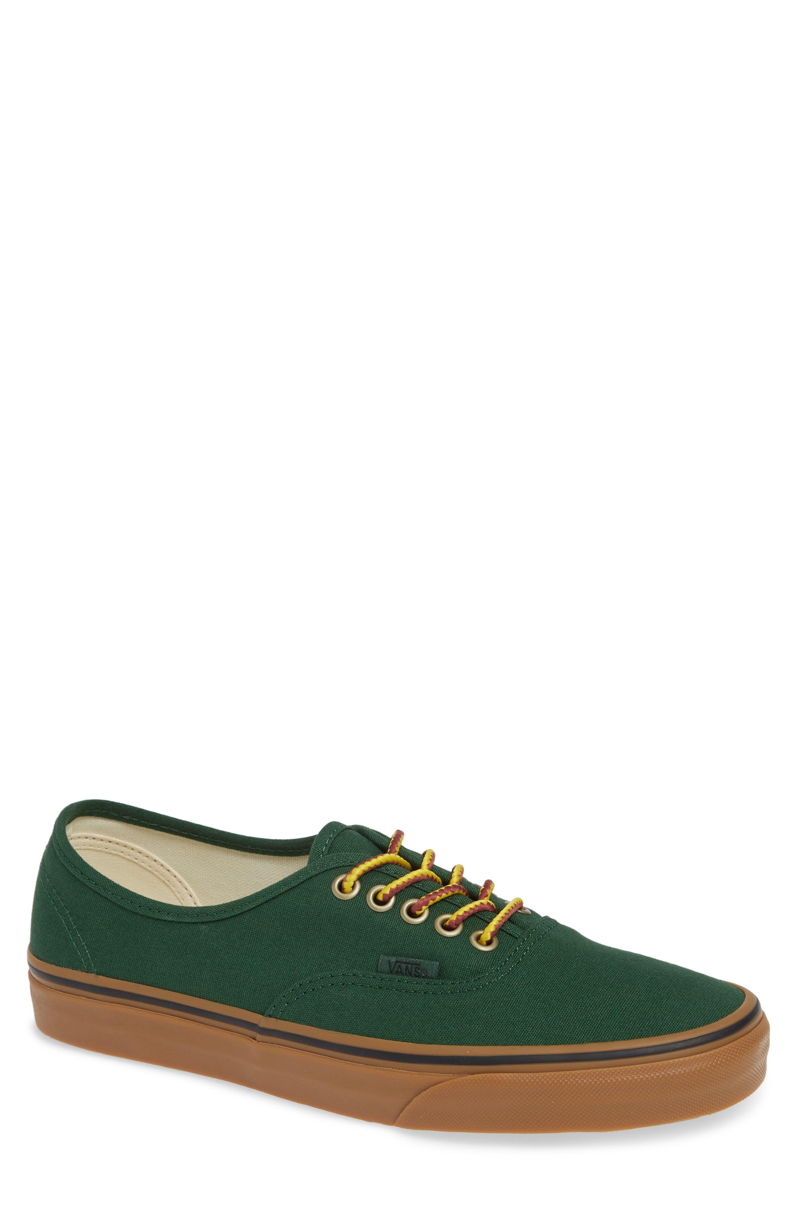 Authentic Sneaker,                             Main thumbnail 1, color,                             GREEN EDEN