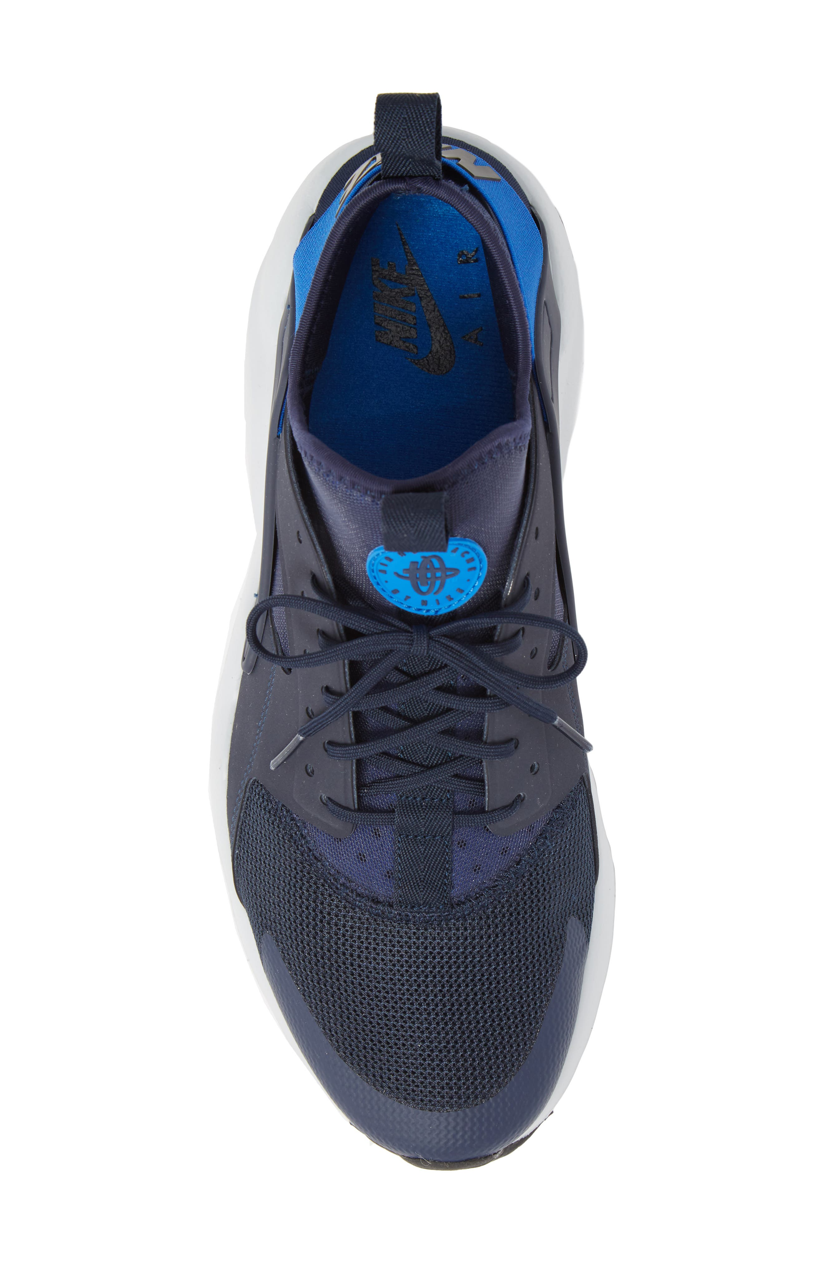 Air Huarache Run Ultra Sneaker,                             Alternate thumbnail 5, color,                             412