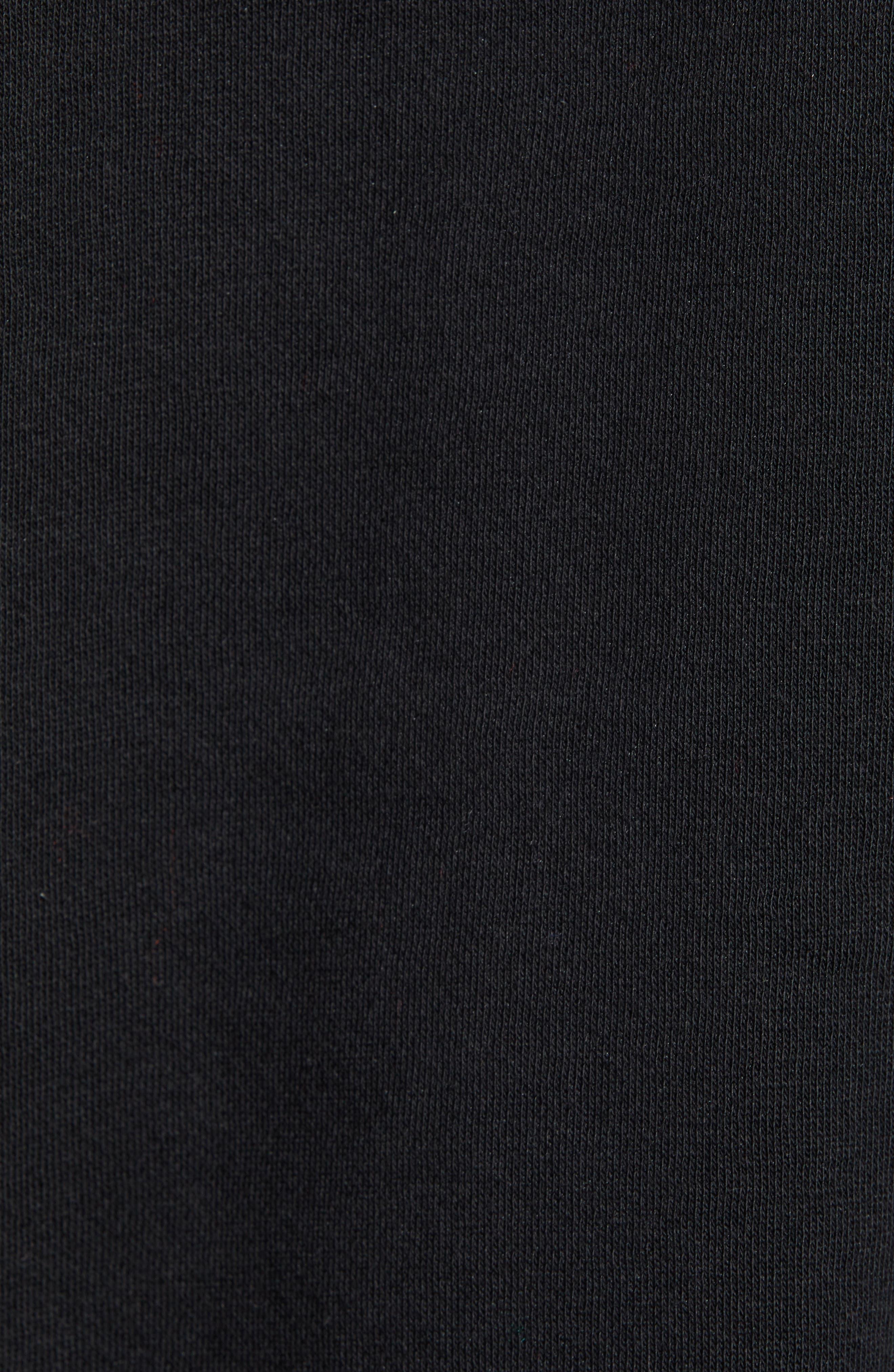 Bzaleh Hoodie,                             Alternate thumbnail 6, color,                             BLACK/ WHITE