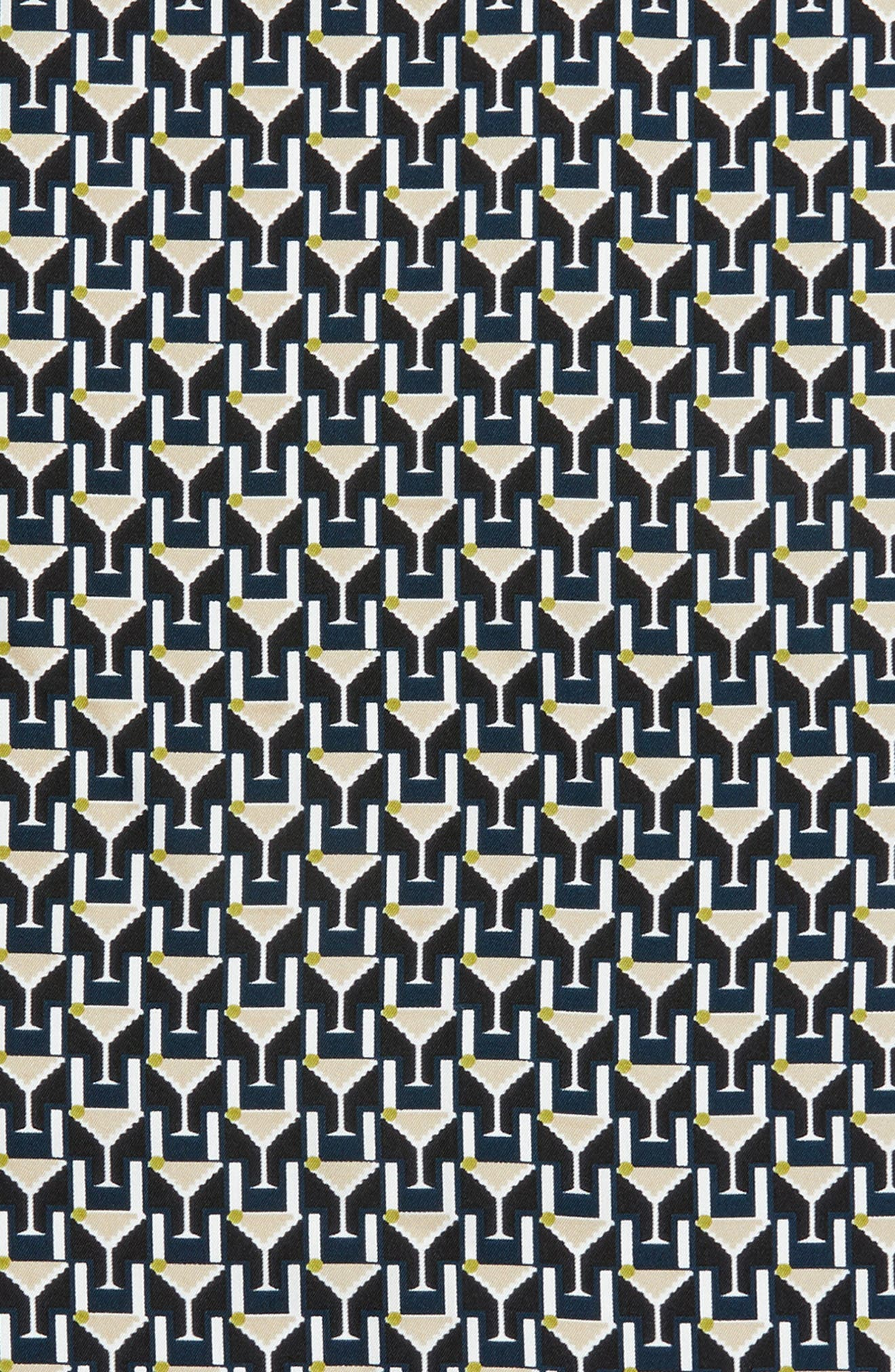 Martini Silk Neckerchief,                             Alternate thumbnail 4, color,                             019