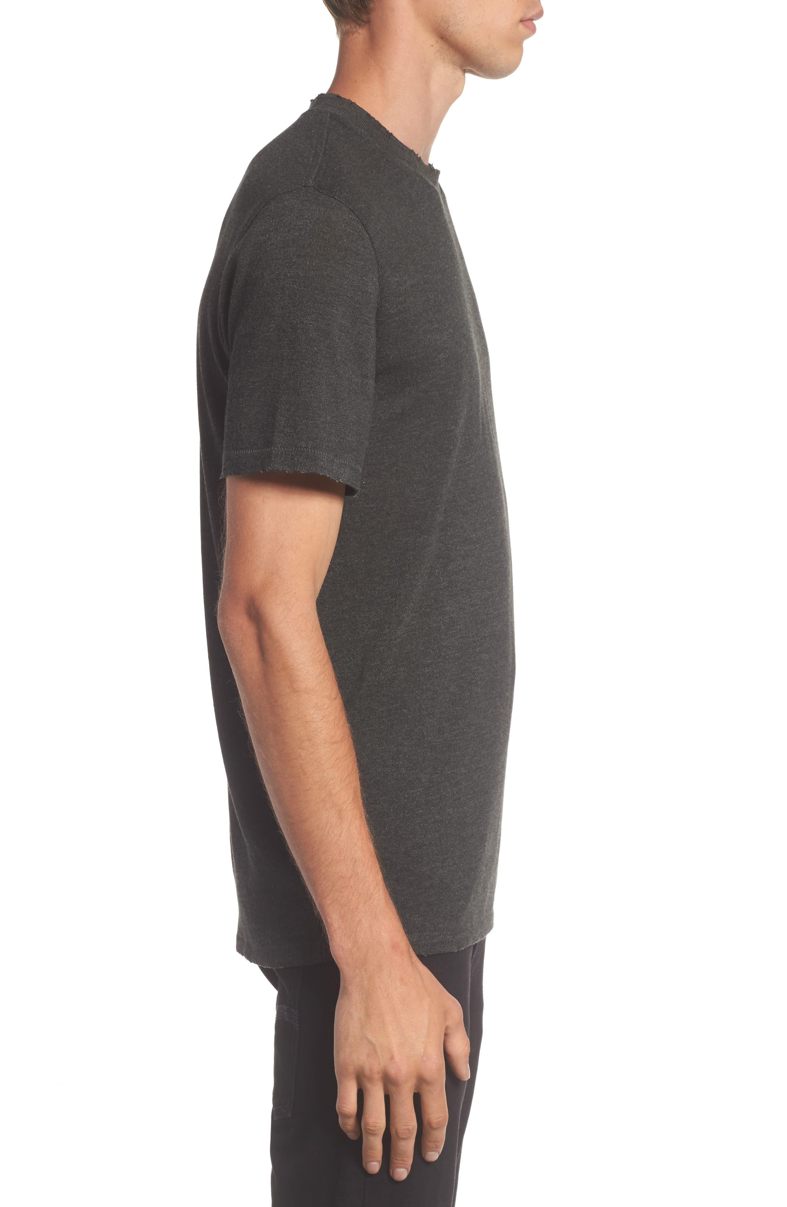 Core Crewneck T-Shirt,                             Alternate thumbnail 3, color,                             021
