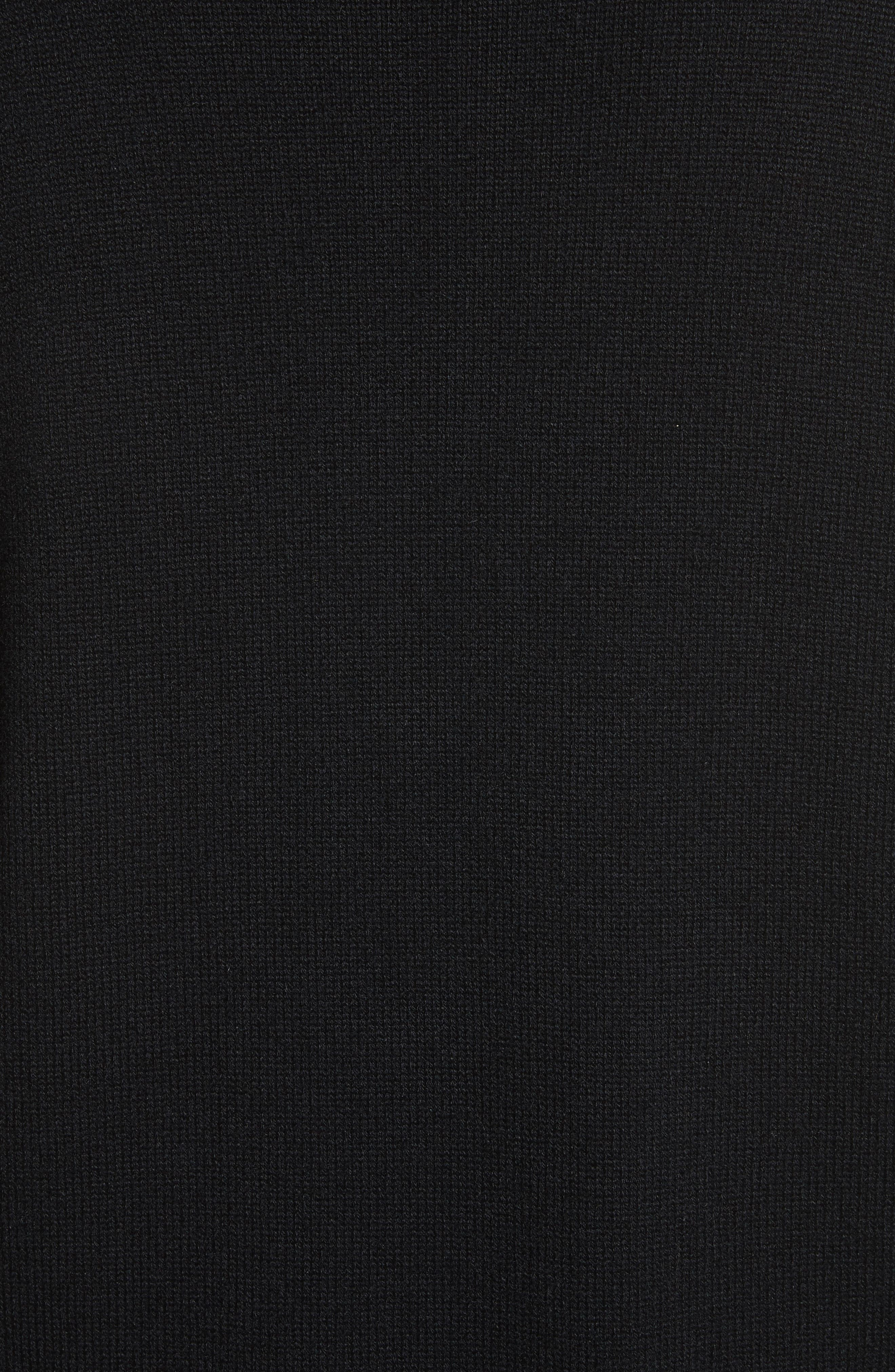 Embellished Cashmere Tunic,                             Alternate thumbnail 5, color,                             001