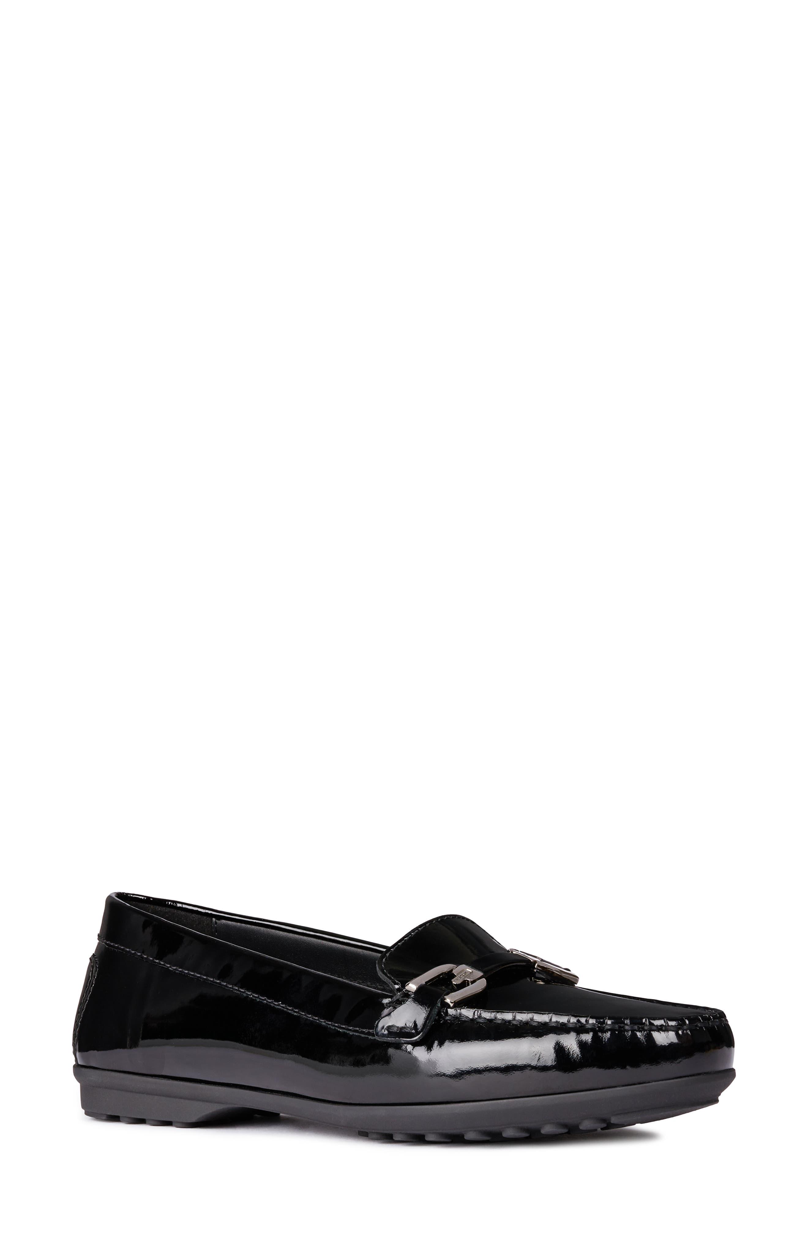 Alidia Loafer,                         Main,                         color, BLACK LEATHER