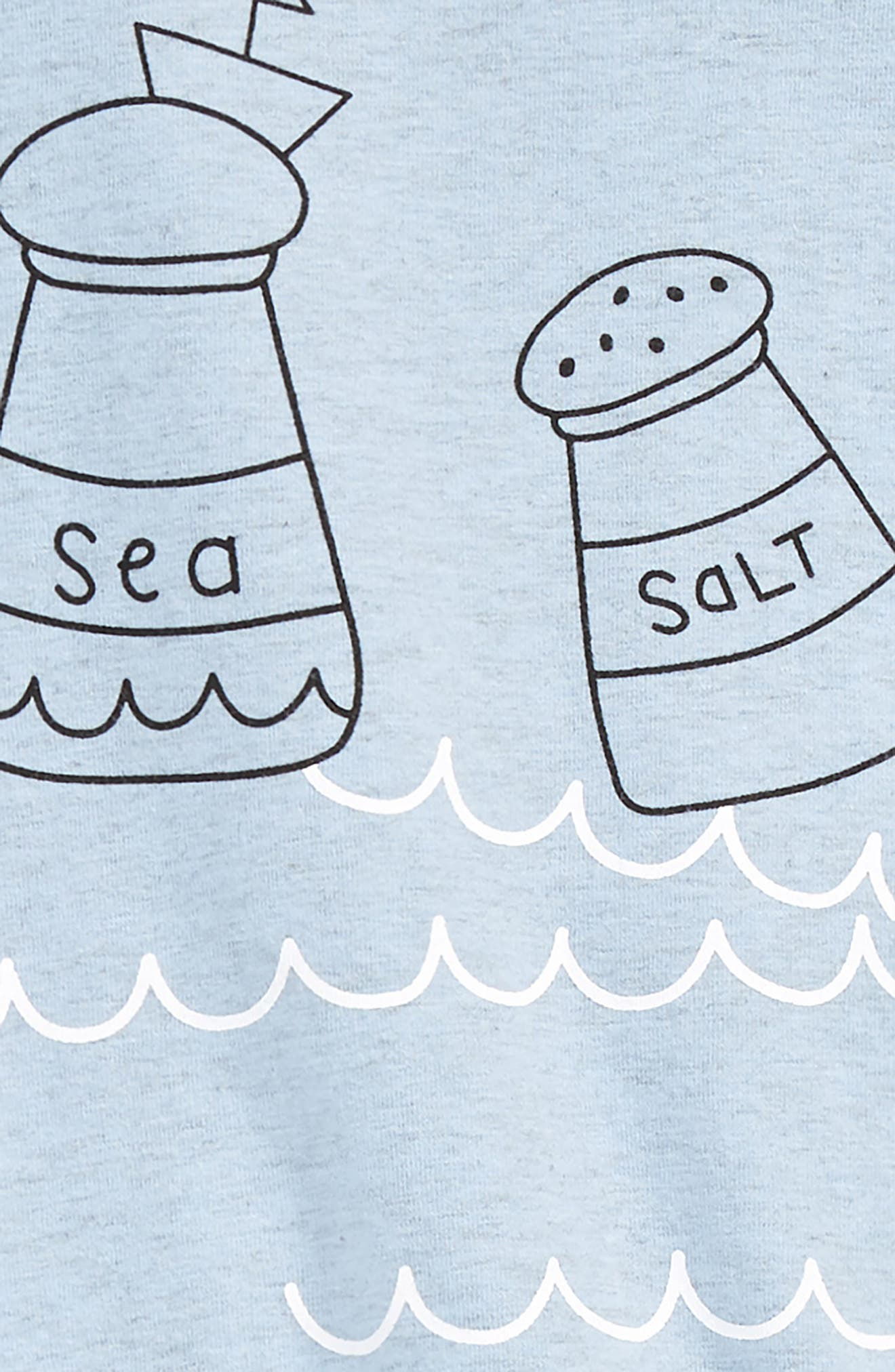 Sea-Salt T-Shirt & Leggings Set,                             Alternate thumbnail 2, color,                             499
