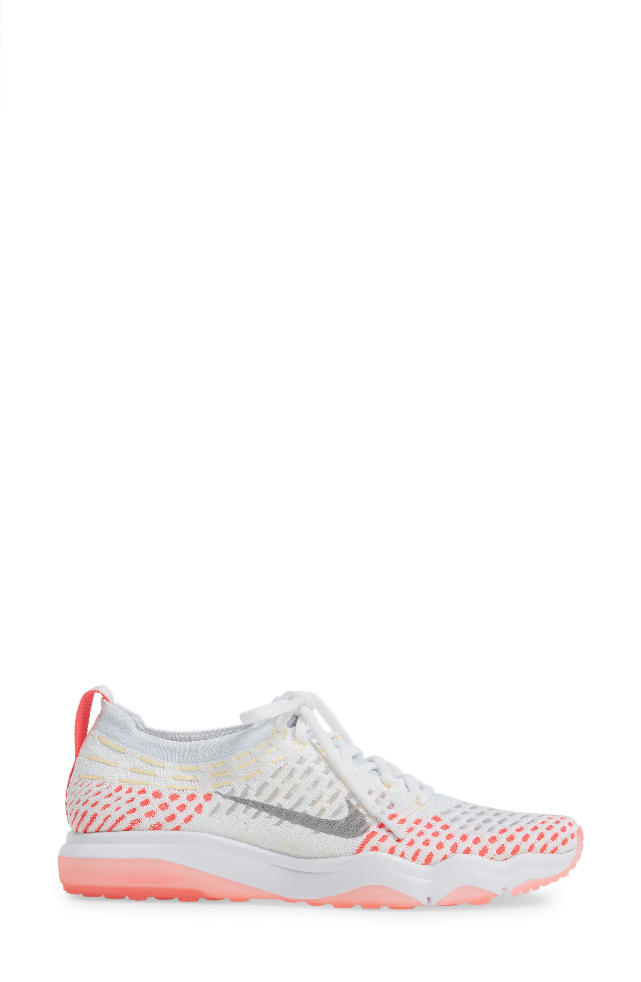 Air Zoom Fearless Flyknit Training Shoe,                             Alternate thumbnail 33, color,