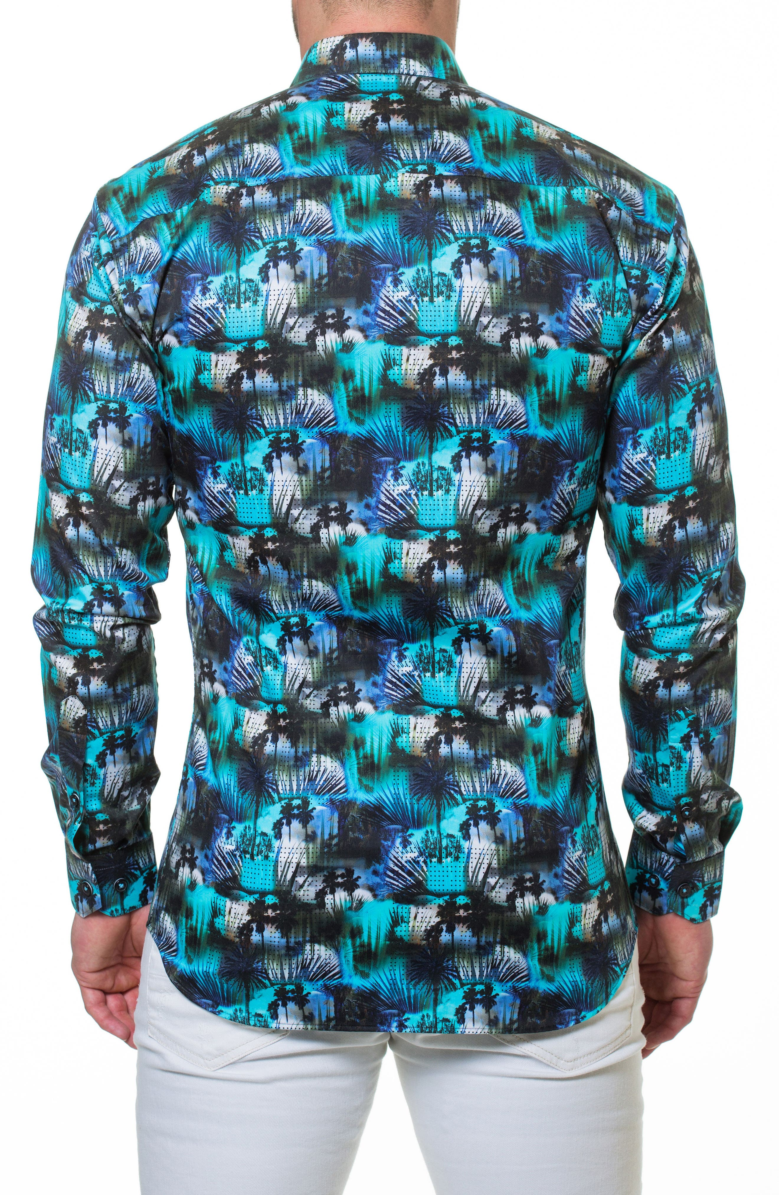 Luxor Miami Slim Fit Sport Shirt,                             Alternate thumbnail 2, color,                             420