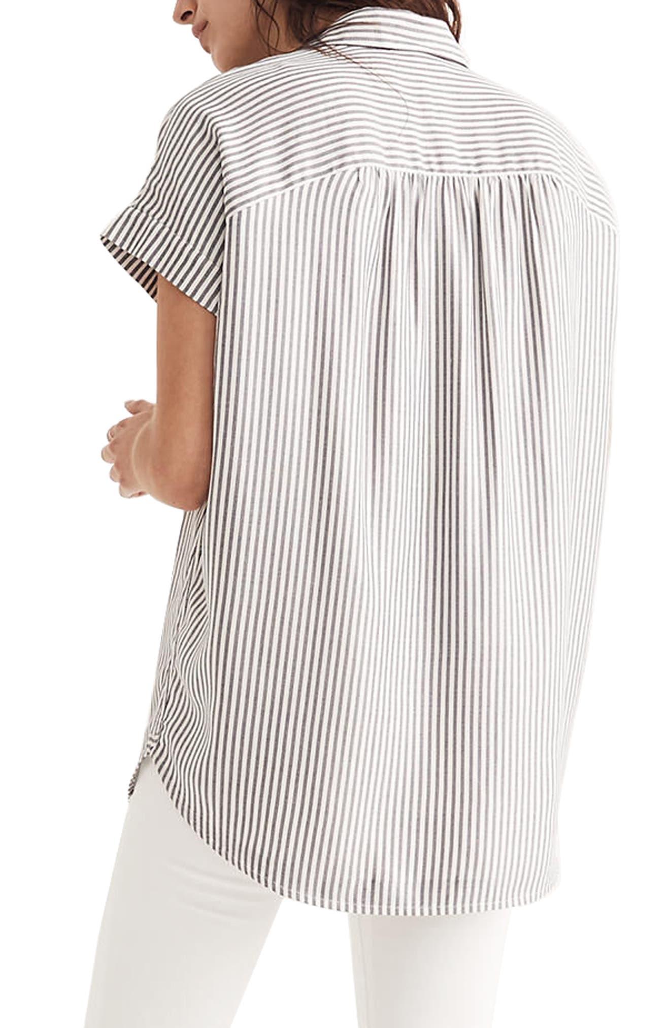 Central Stripe Shirt,                             Alternate thumbnail 2, color,