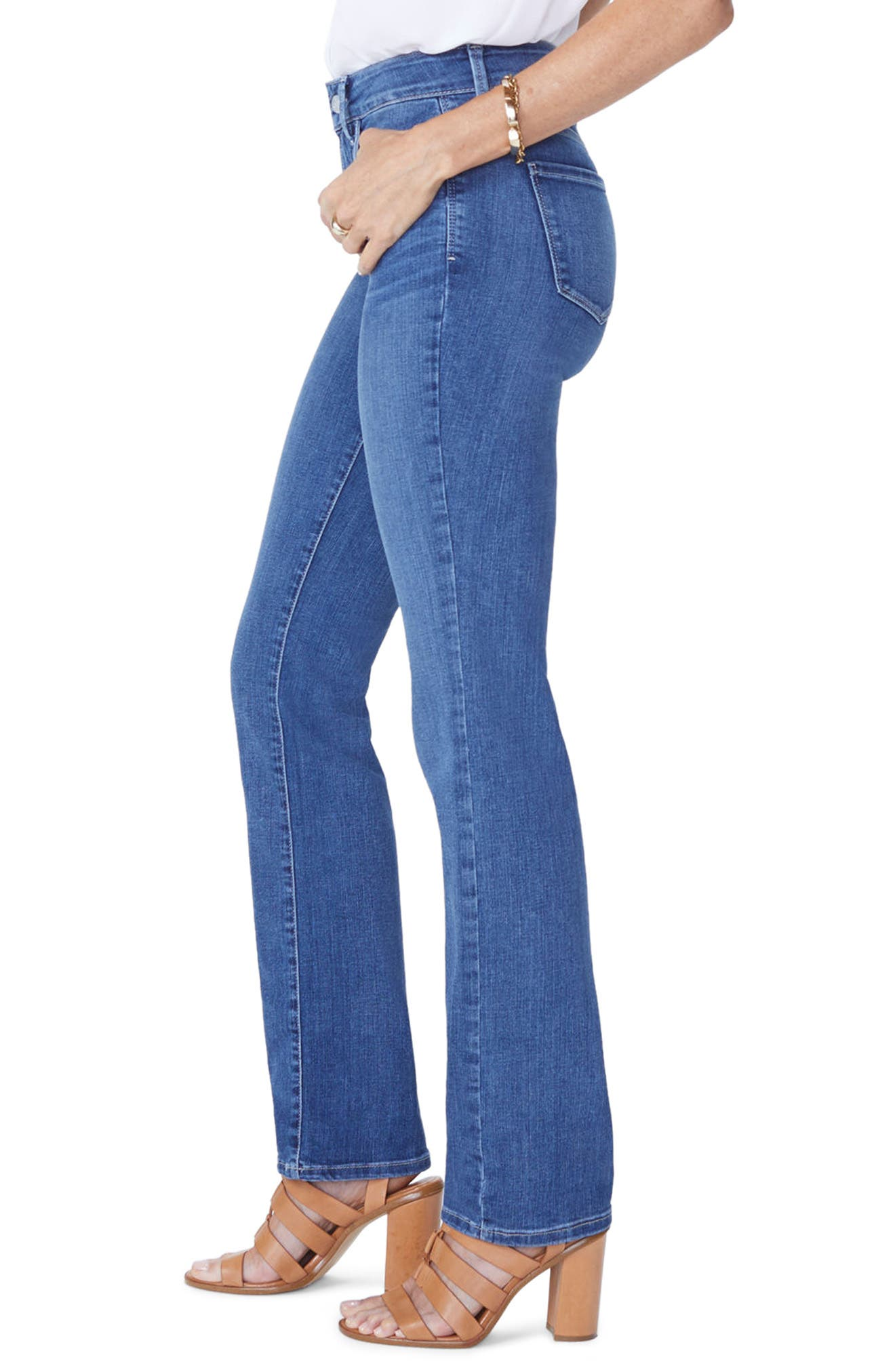 Marilyn Straight Leg Jeans,                             Alternate thumbnail 3, color,