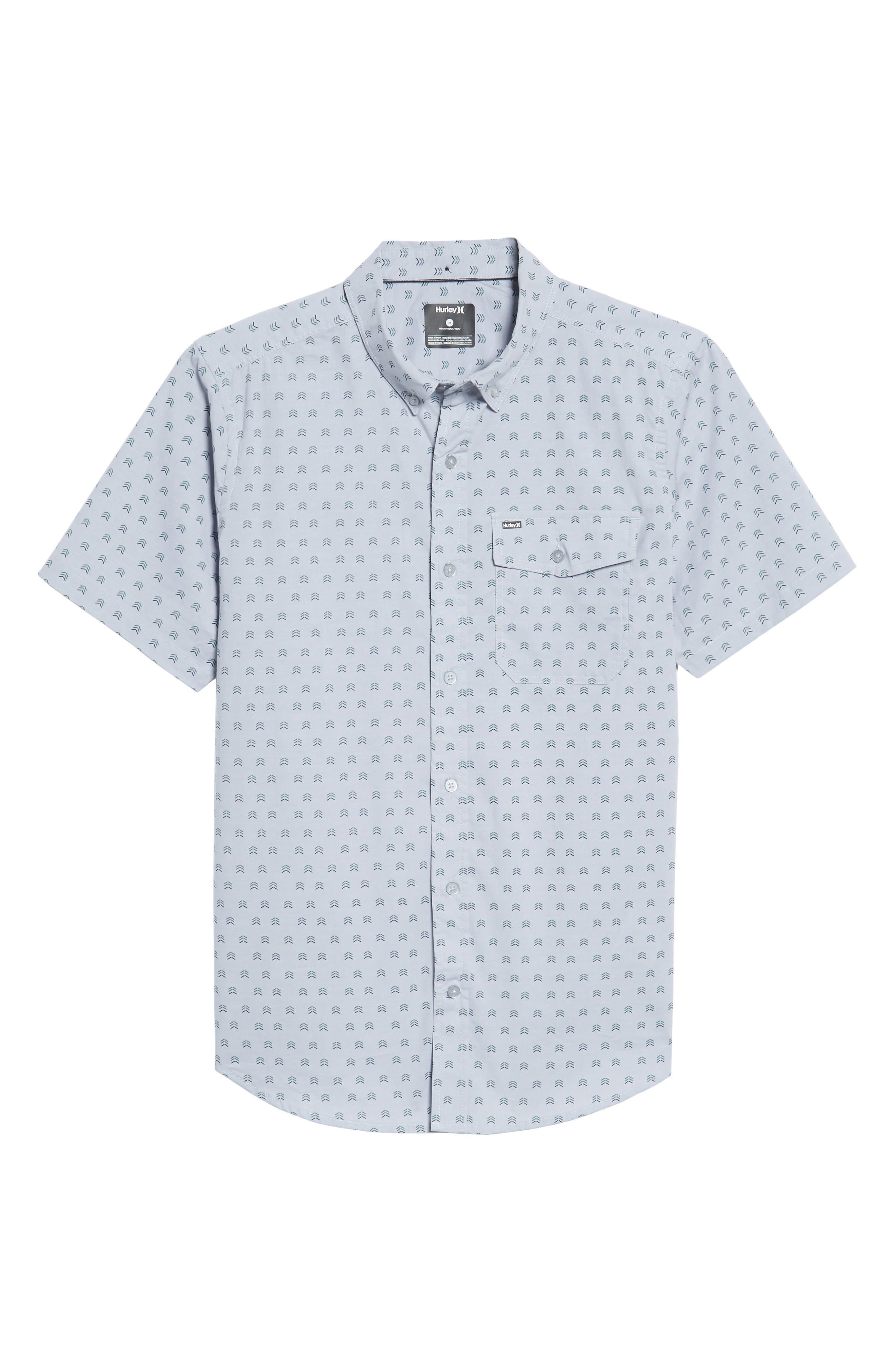Brooks Woven Shirt,                             Alternate thumbnail 6, color,                             059