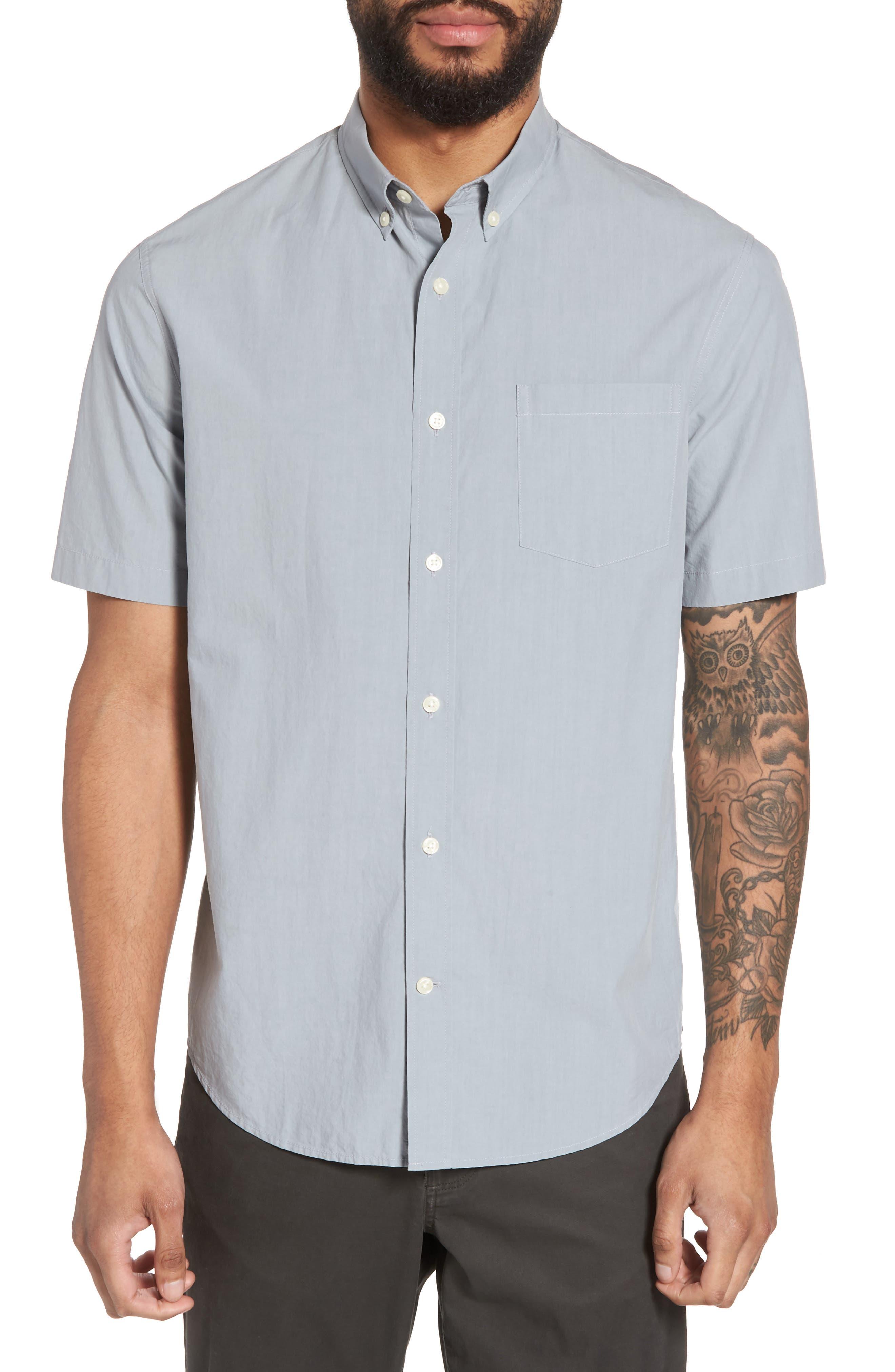 Slim Fit Sport Shirt,                         Main,                         color, 100