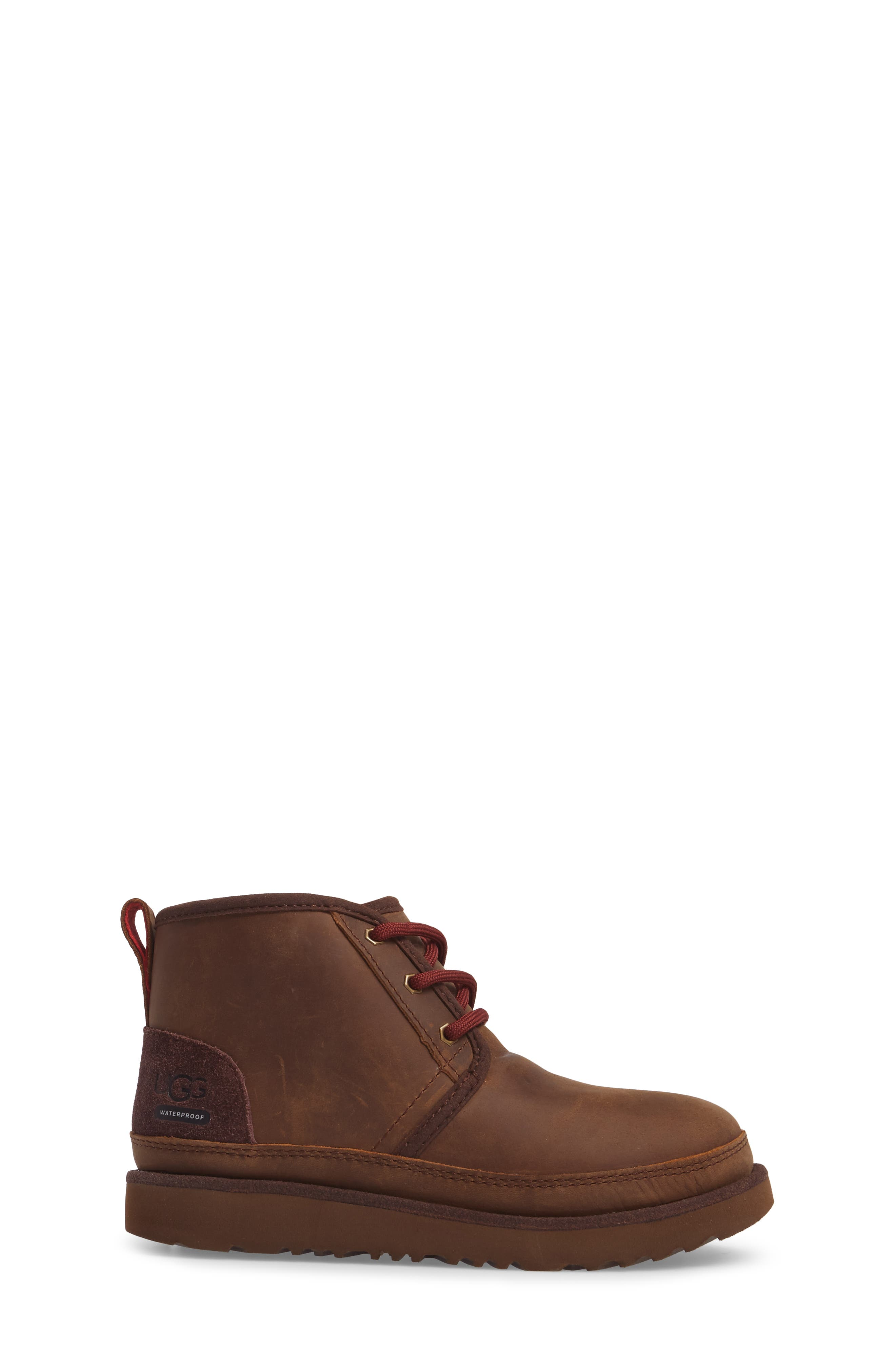 UGG<SUP>®</SUP>,                             Neumel II Waterproof Chukka,                             Alternate thumbnail 3, color,                             GRIZZLY
