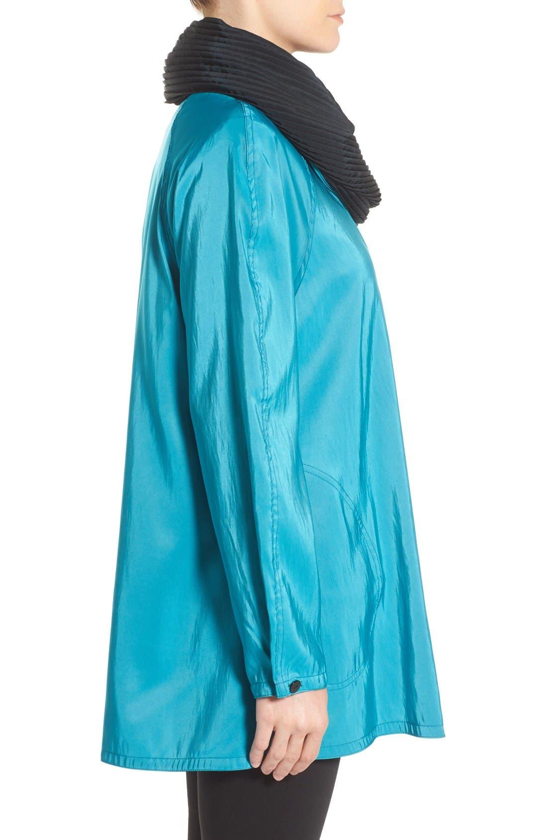 'Mini Donatella' Reversible Pleat Hood Packable Travel Coat,                             Alternate thumbnail 53, color,