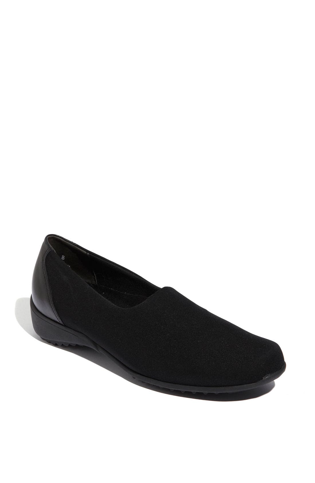 'Traveler' Slip-On,                         Main,                         color, BLACK