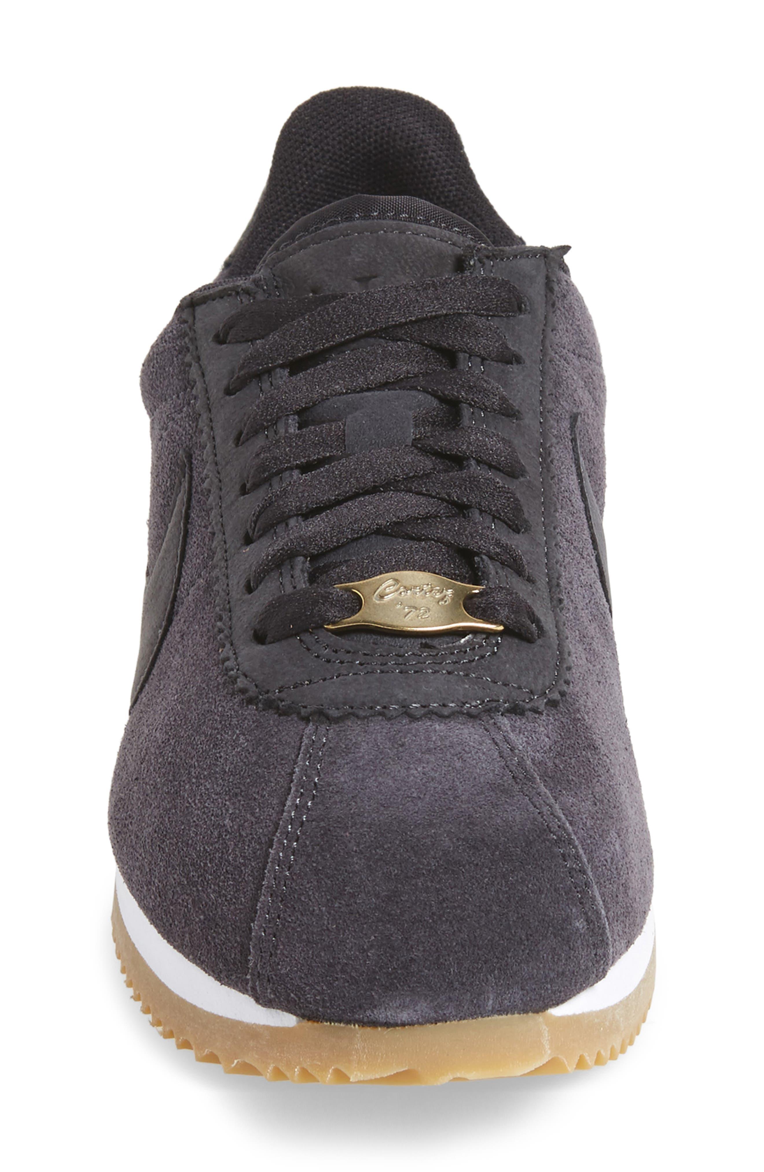 x A.L.C. Classic Cortez Sneaker,                             Alternate thumbnail 4, color,                             001
