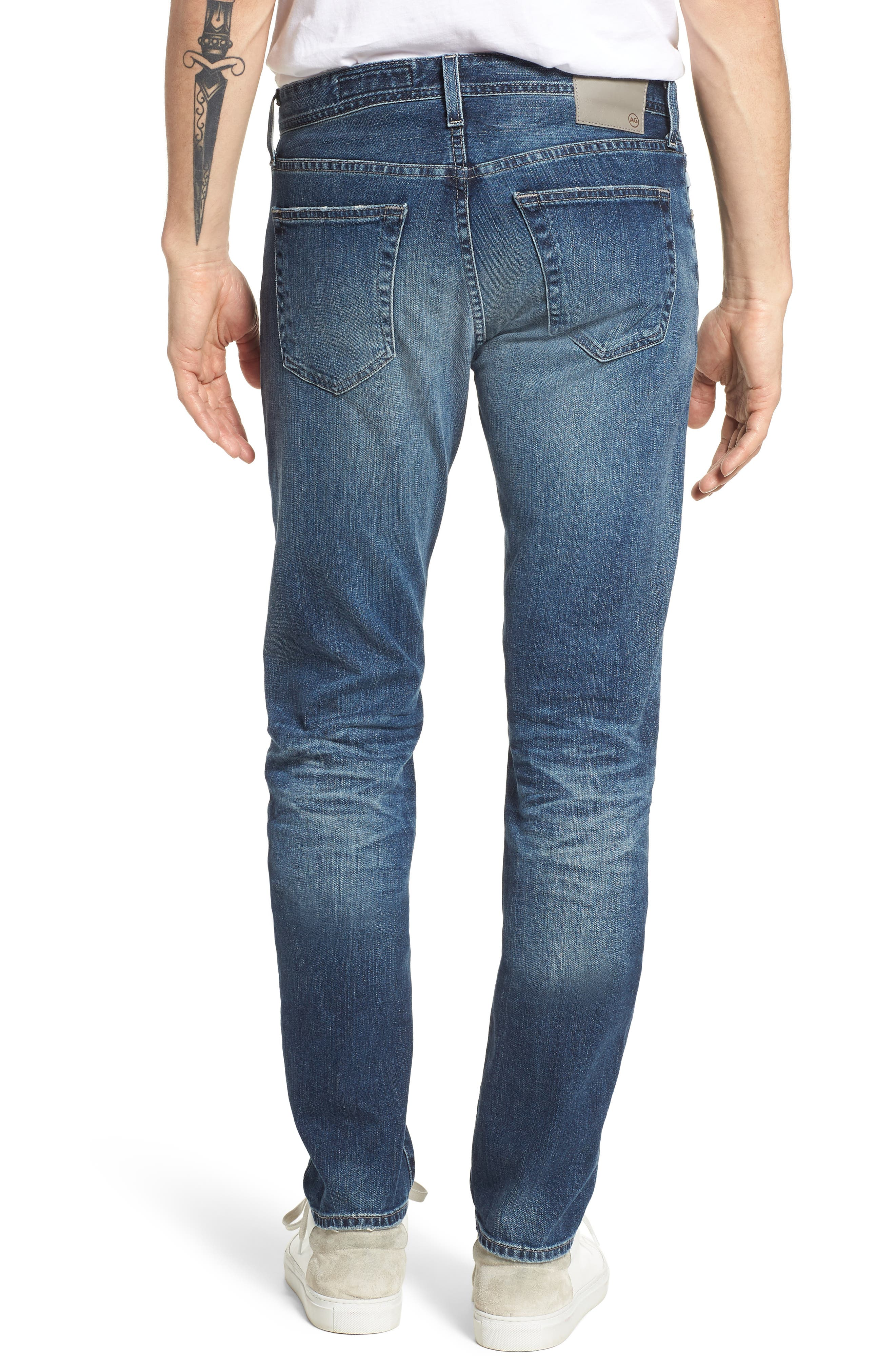 AG,                             Tellis Slim Fit Jeans,                             Alternate thumbnail 2, color,                             417