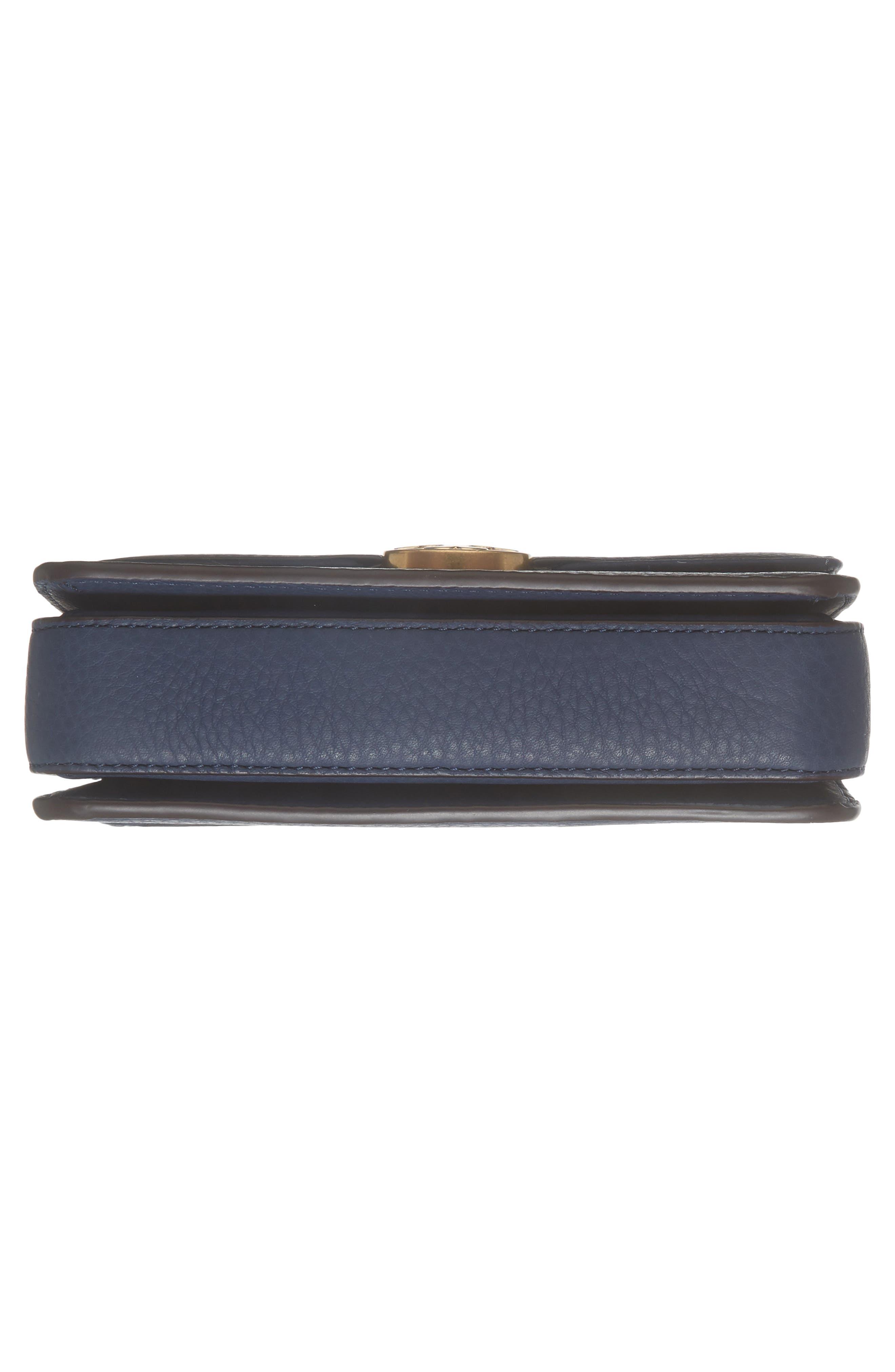 Mini Chelsea Leather Convertible Crossbody Bag,                             Alternate thumbnail 17, color,