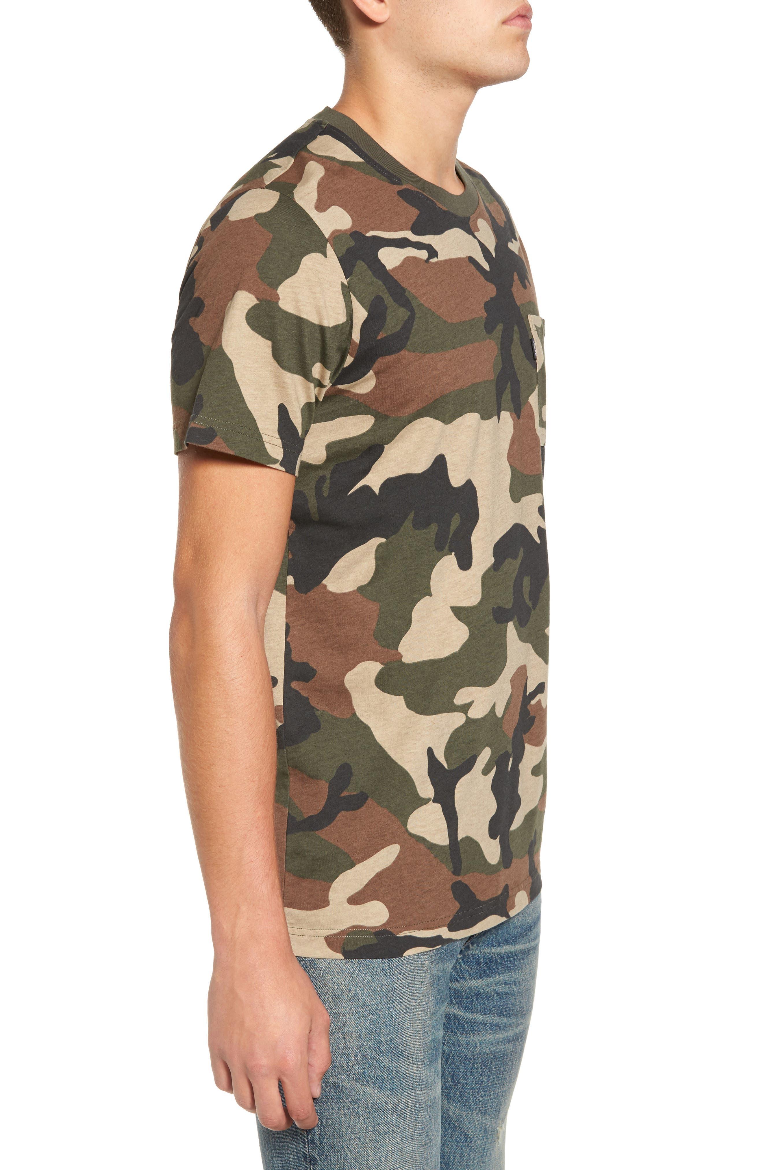 Maxwell Camo T-Shirt,                             Alternate thumbnail 3, color,                             307