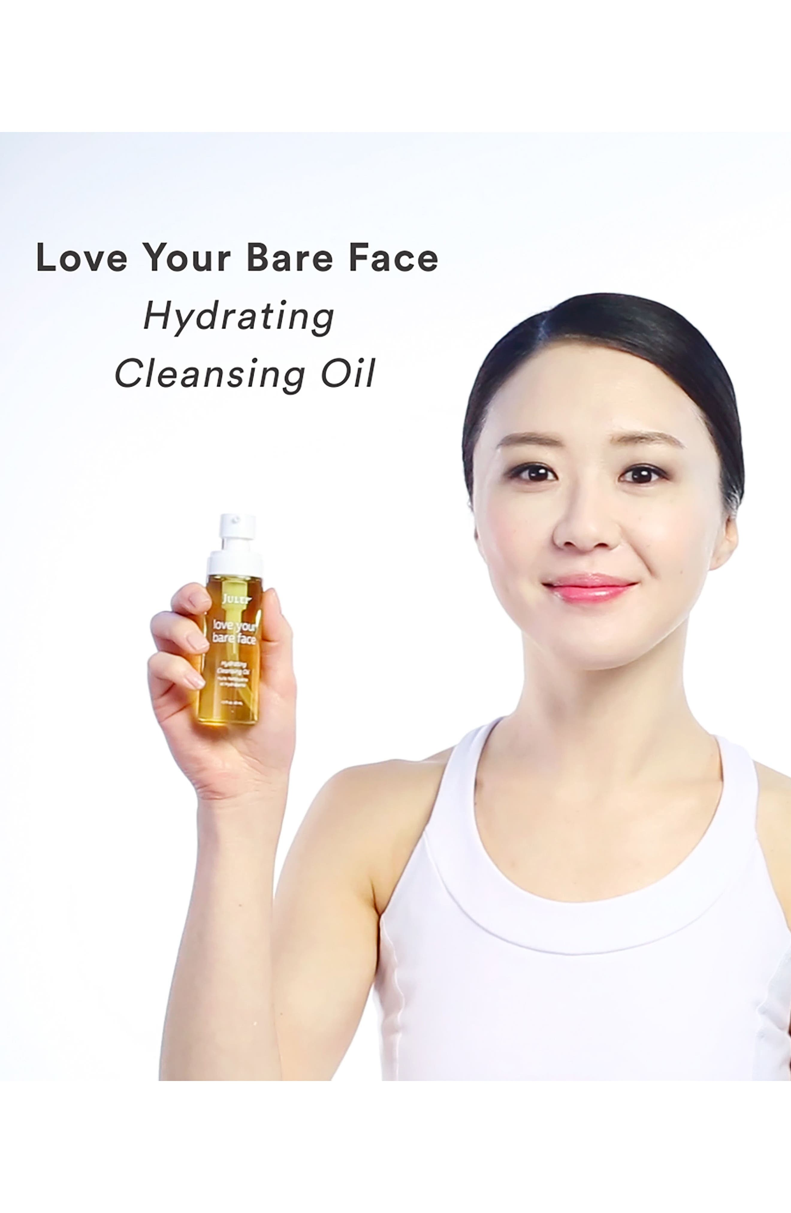 Julep<sup>™</sup> love your bare face Hydrating Cleansing Oil,                             Alternate thumbnail 8, color,                             NO COLOR