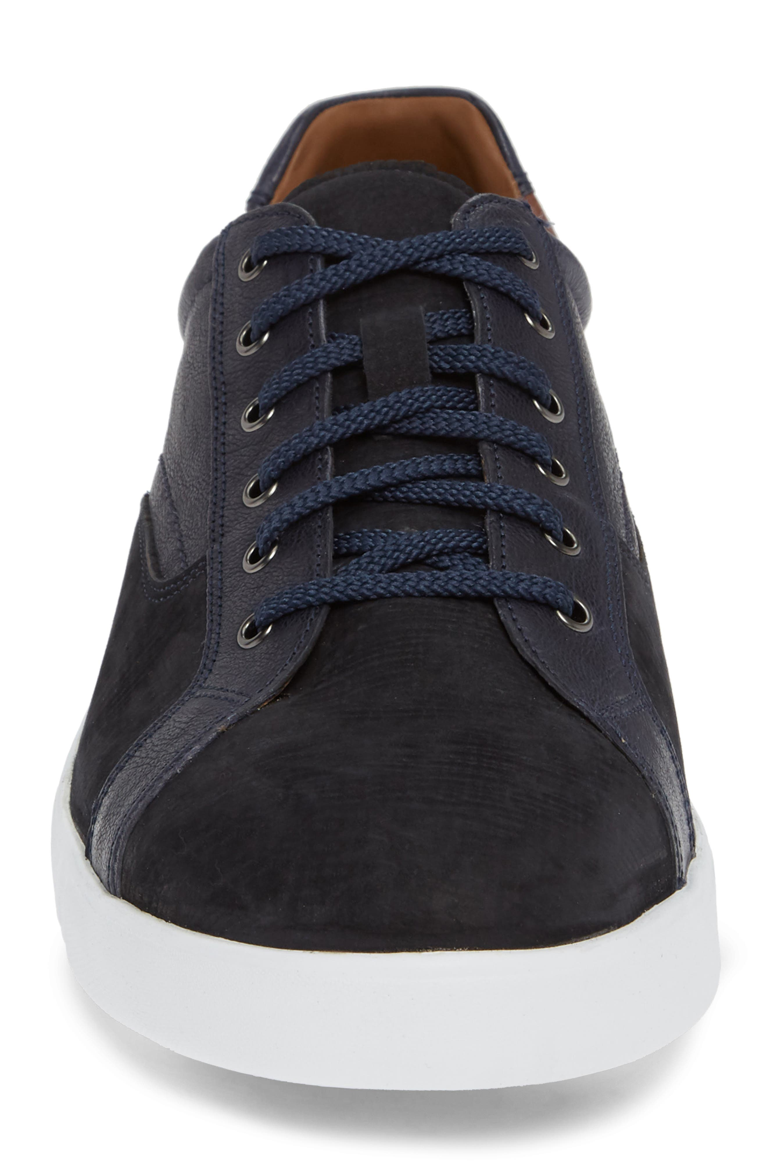 McFarland Sneaker,                             Alternate thumbnail 4, color,                             NAVY NUBUCK