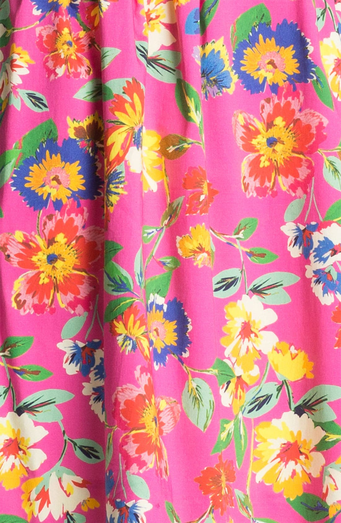 'sonja' stretch cotton fit & flare dress,                             Alternate thumbnail 2, color,                             650
