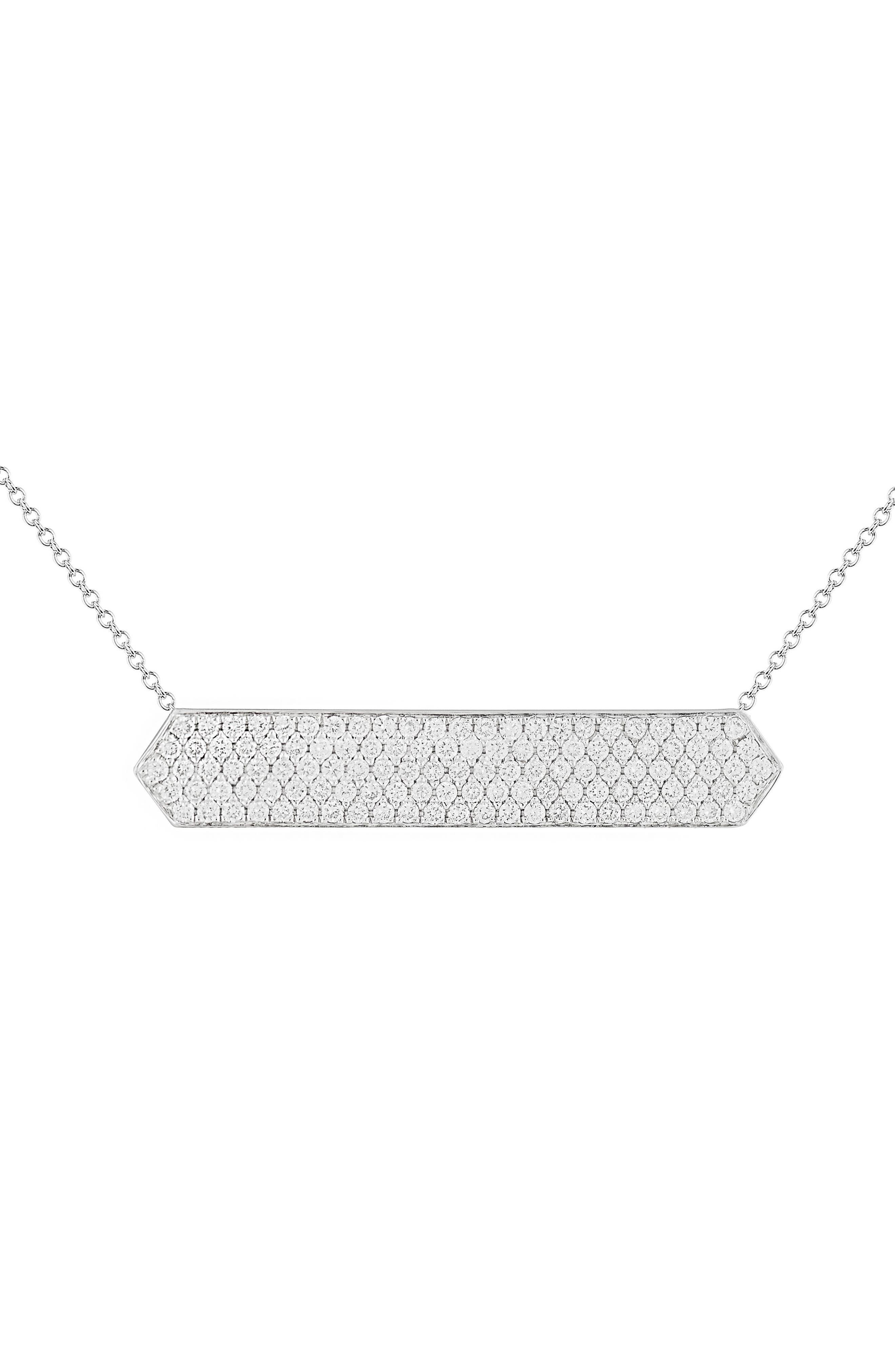 Diamond Pavé Pendant Necklace,                             Alternate thumbnail 2, color,                             711