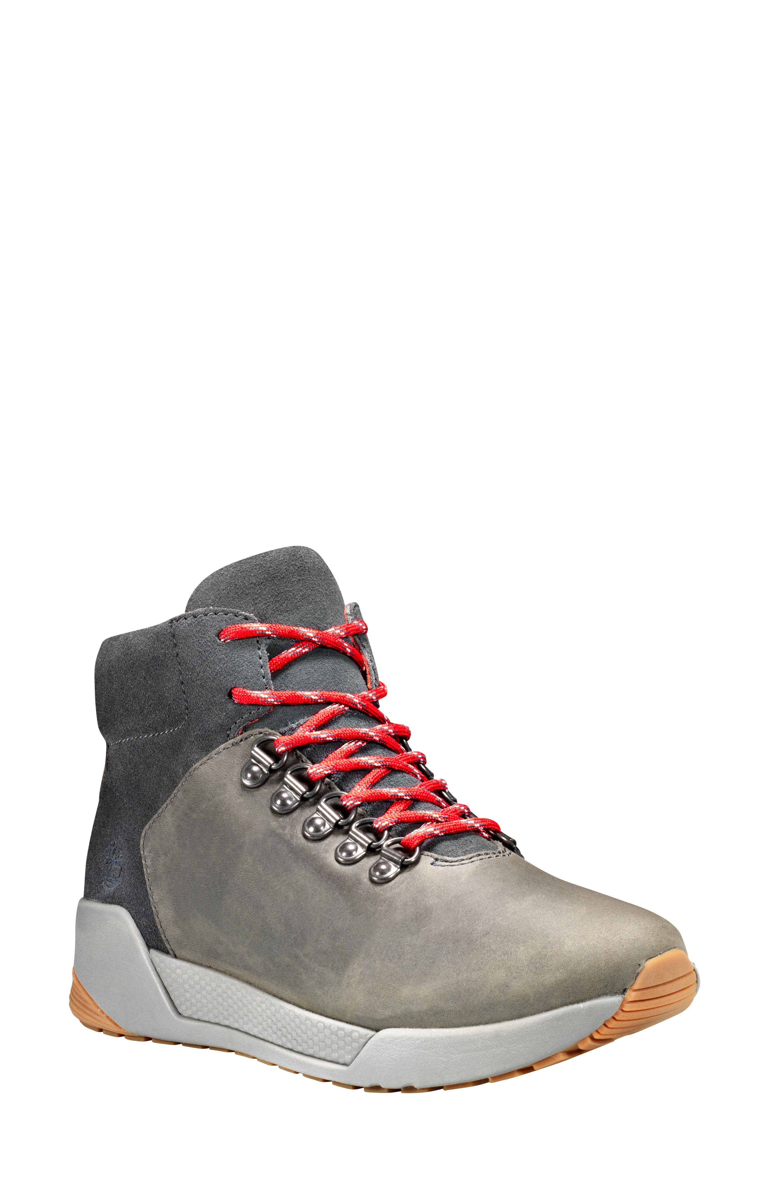 Timberland Kiri-Up Waterproof Hiking Boot- Grey
