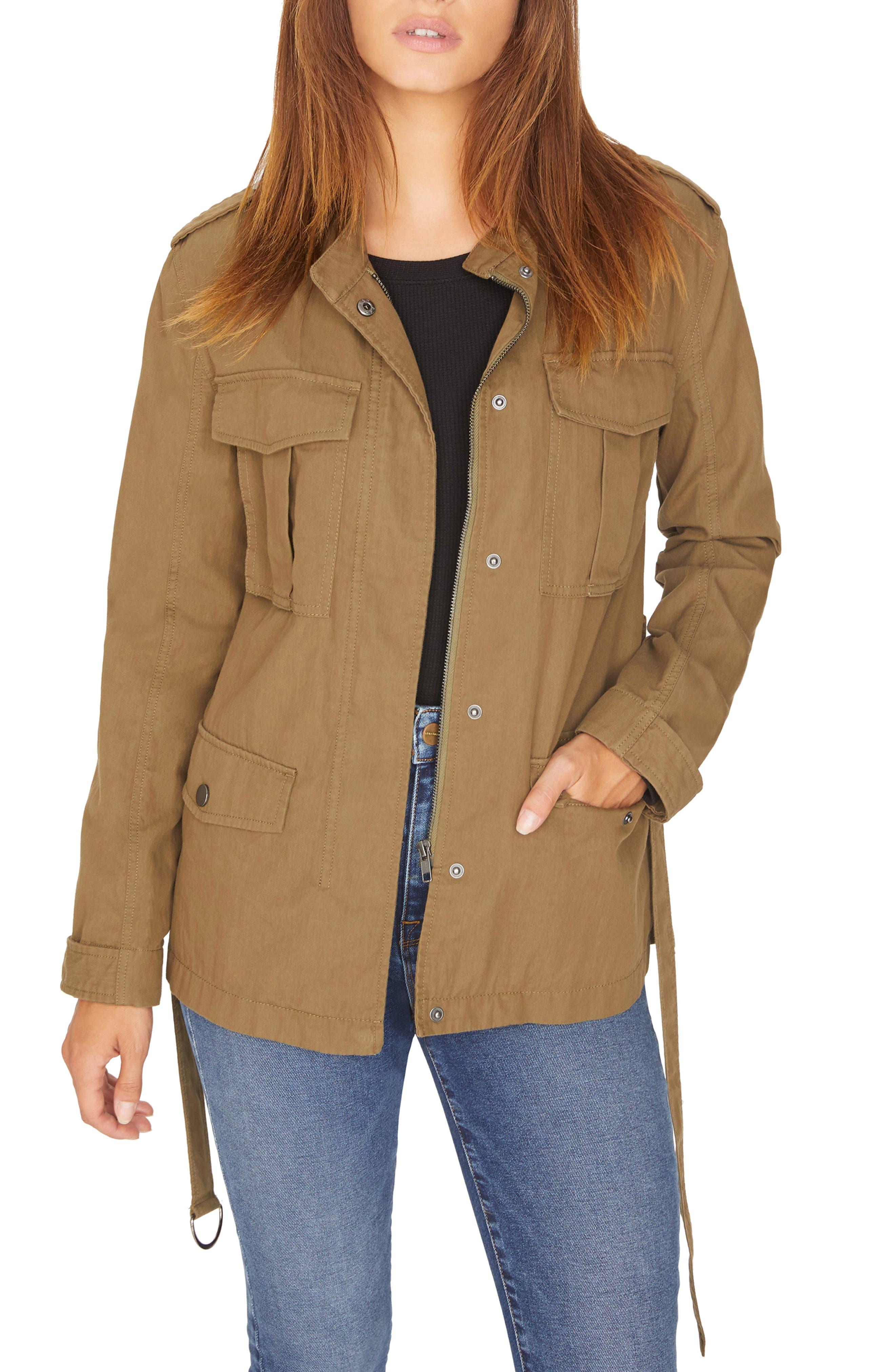 Kinship Surplus Cotton Blend Jacket,                         Main,                         color, 301