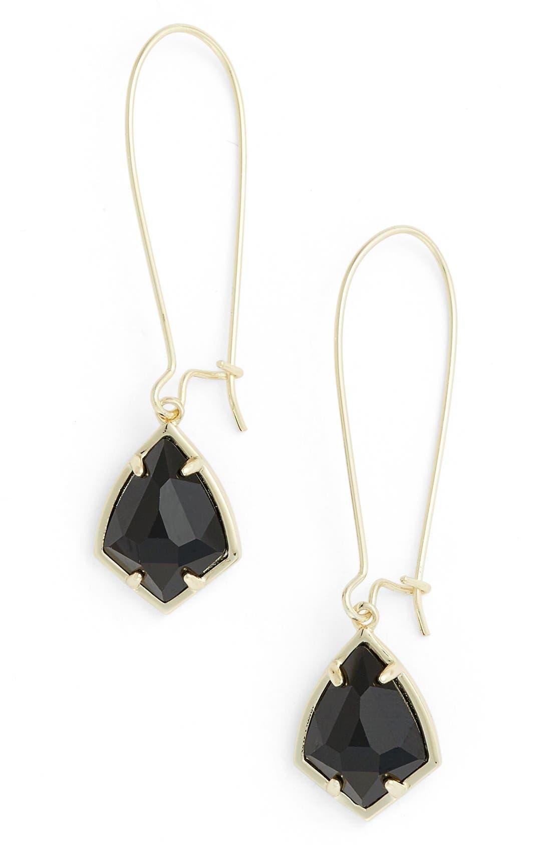 'Carrine' Semiprecious Stone Drop Earrings,                             Main thumbnail 8, color,