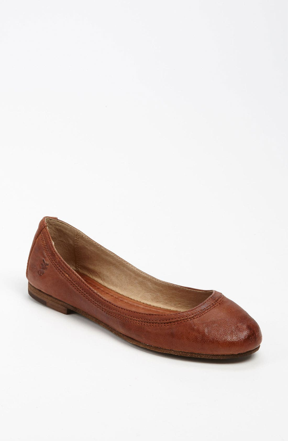 Women'S Carson Ballet Flats Women'S Shoes in Cognac