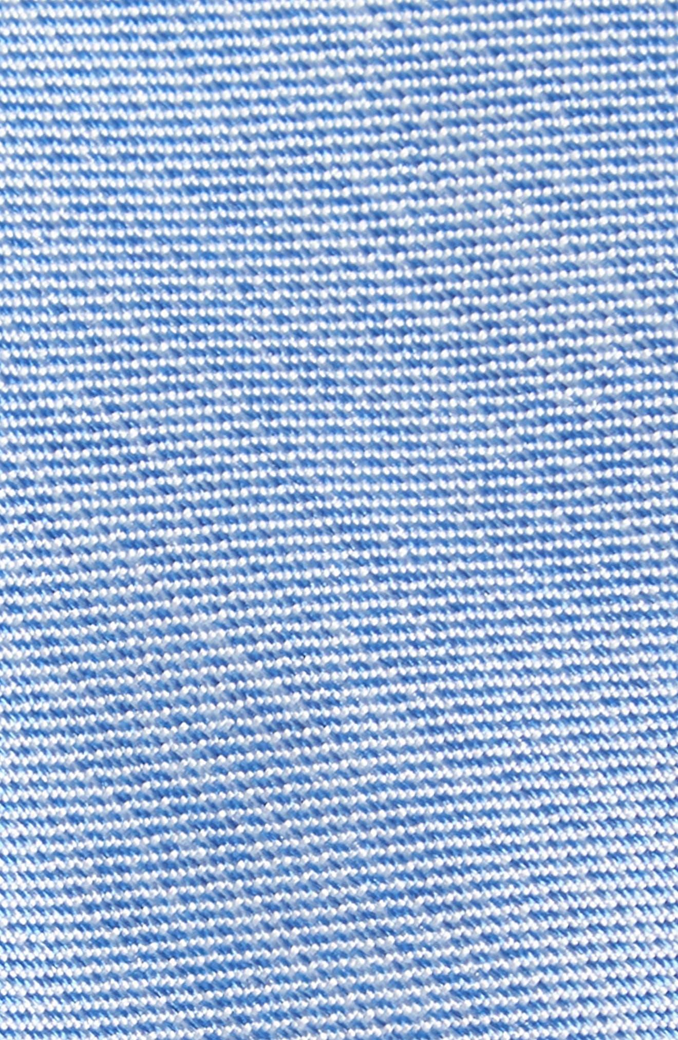 Andrews Solid Skinny Silk Tie,                             Alternate thumbnail 2, color,                             BLUE