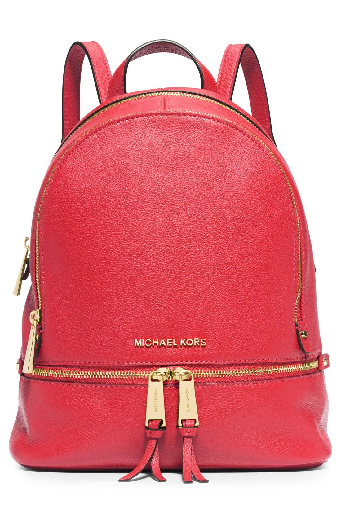 'Extra Small Rhea Zip' Leather Backpack,                             Alternate thumbnail 39, color,