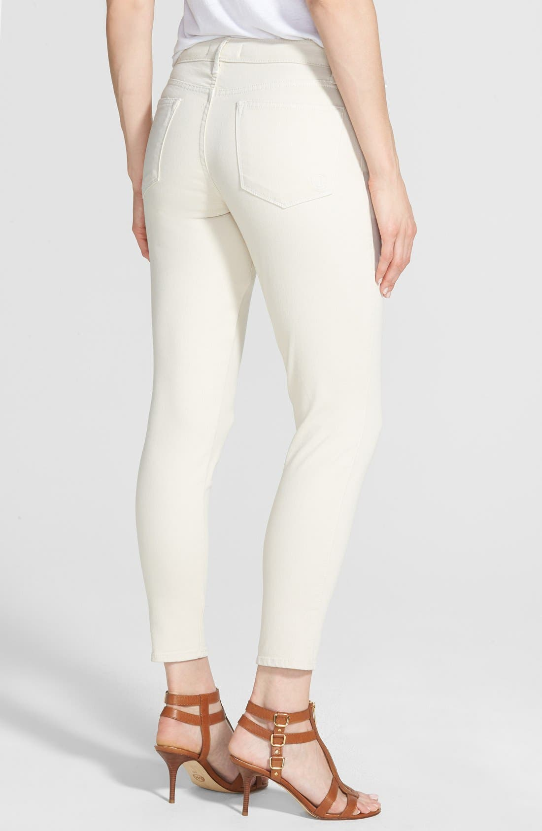 'Wisdom' Stretch Twill Ankle Skinny Jeans,                             Alternate thumbnail 2, color,                             251