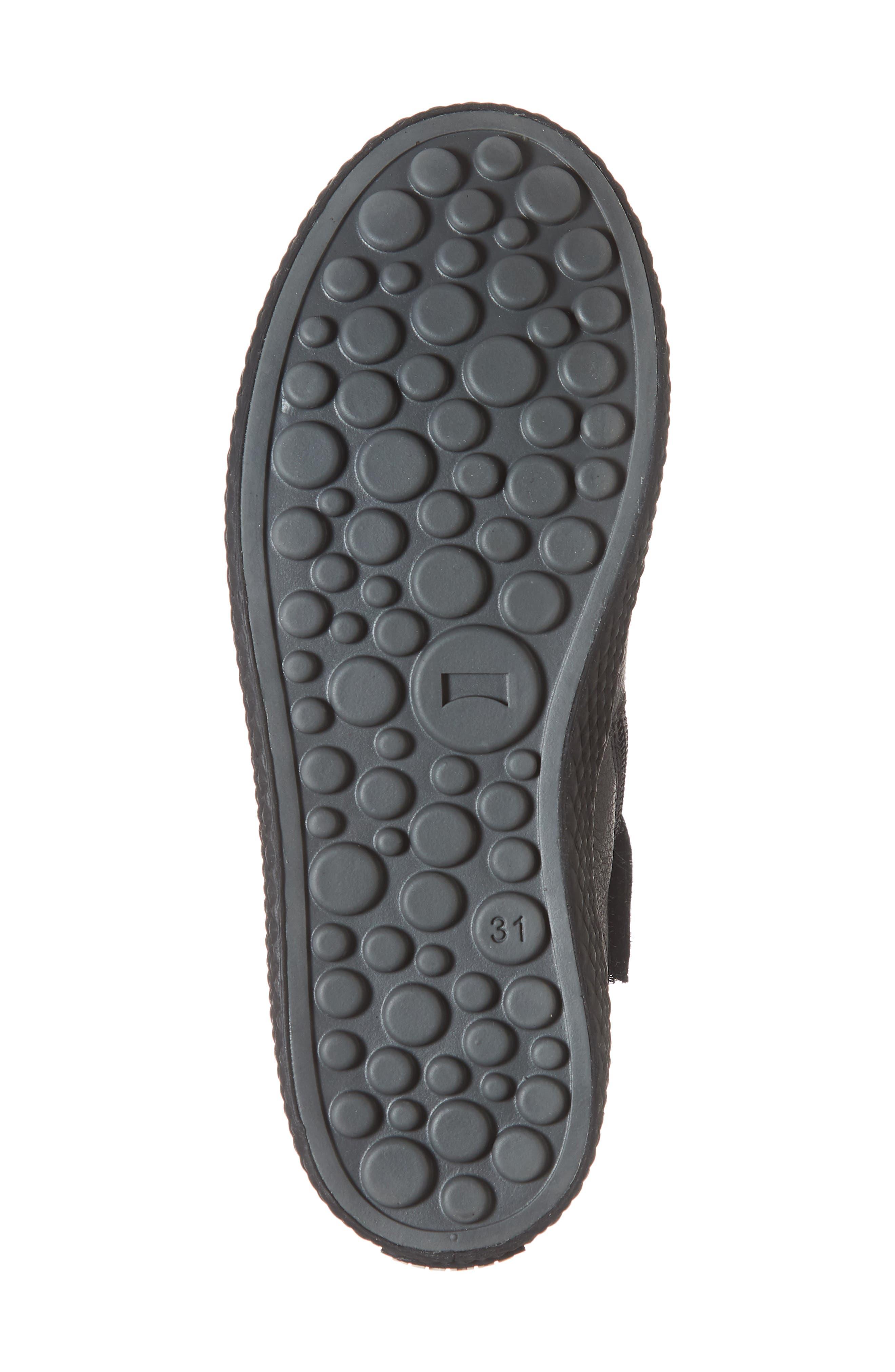 Pursuit Sneaker,                             Alternate thumbnail 6, color,                             BLACK