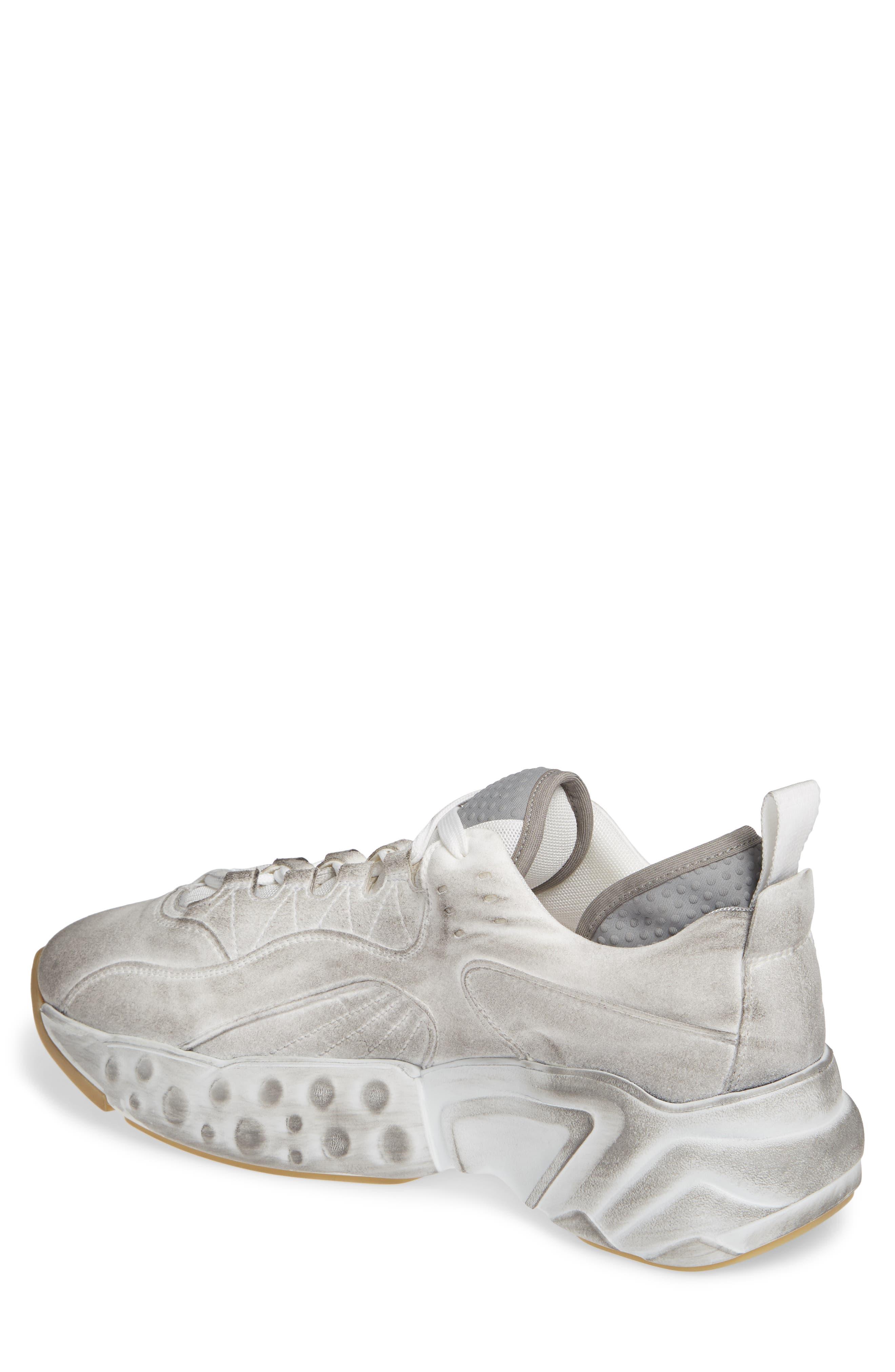 Rockaway Built-Up Sneaker,                             Alternate thumbnail 2, color,                             WHITE