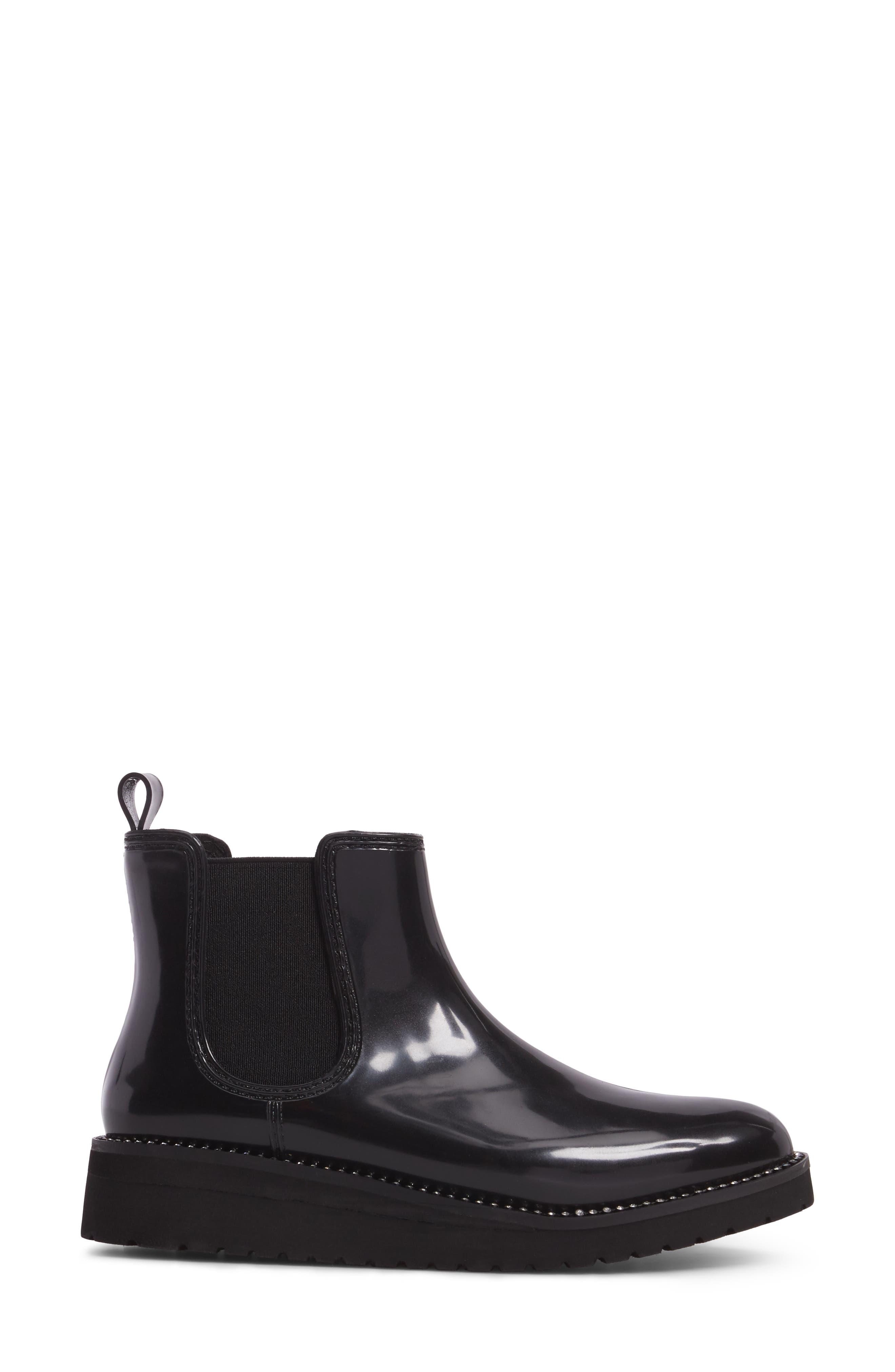 Kerry Waterproof Chelsea Boot,                             Alternate thumbnail 3, color,                             001