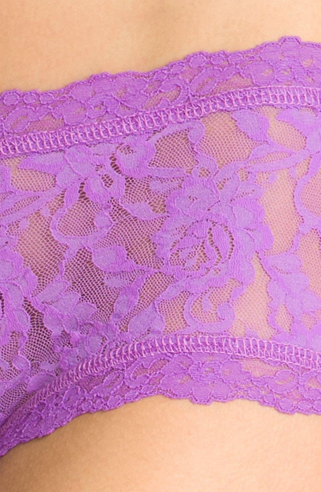 'Signature Lace' Boyshorts,                             Alternate thumbnail 214, color,