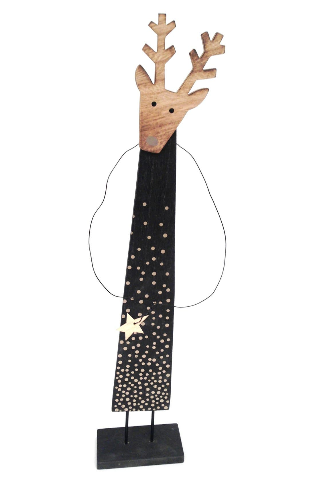 'Deer with Star' Figurine,                             Alternate thumbnail 2, color,                             001