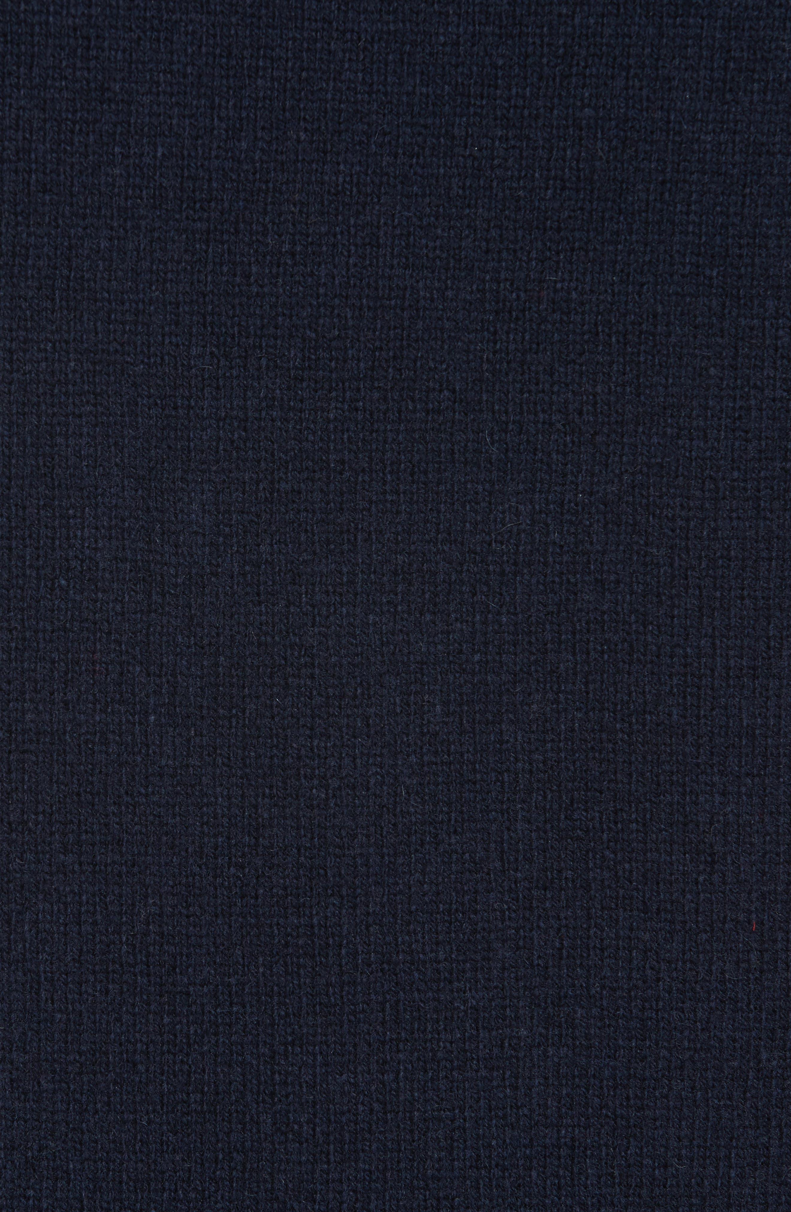 Joy Mixed Media Maxi Sweater Dress,                             Alternate thumbnail 5, color,                             410