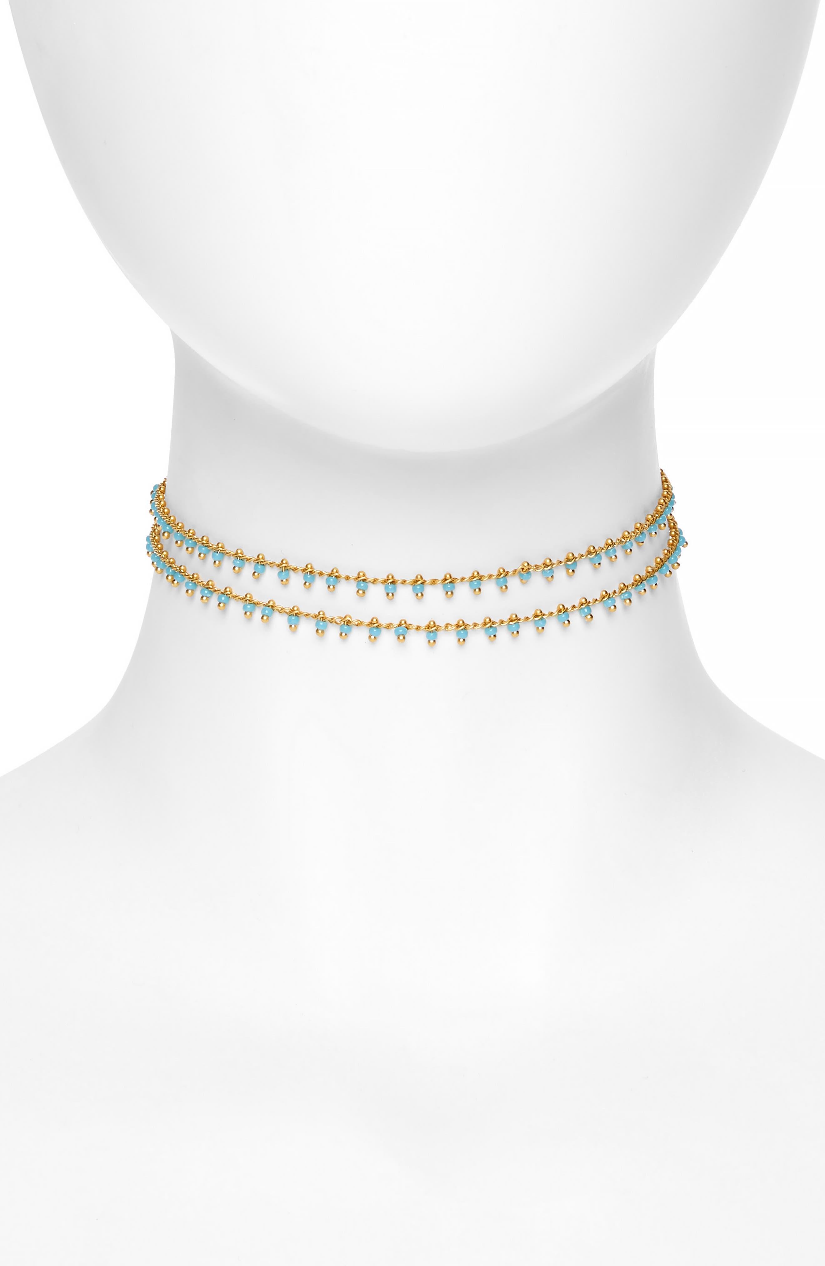 Beadlink Choker Necklace,                             Main thumbnail 2, color,