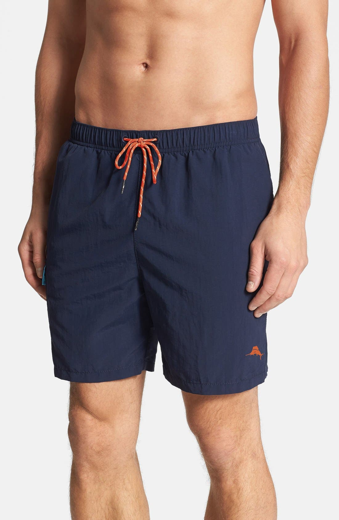 'The Naples Happy Go Cargo' Swim Trunks,                         Main,                         color, 406