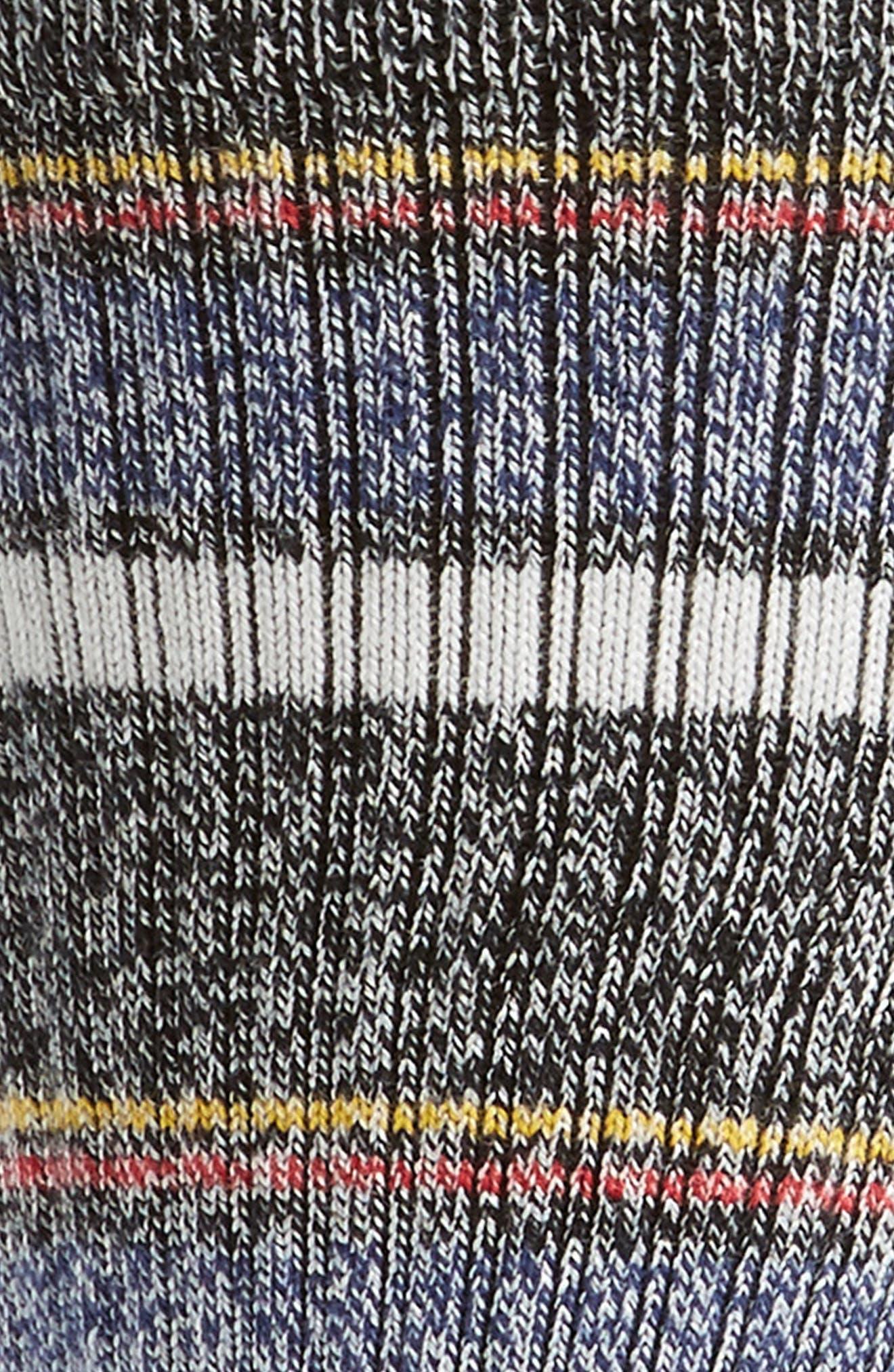 Keating Stripe Socks,                             Alternate thumbnail 2, color,                             001