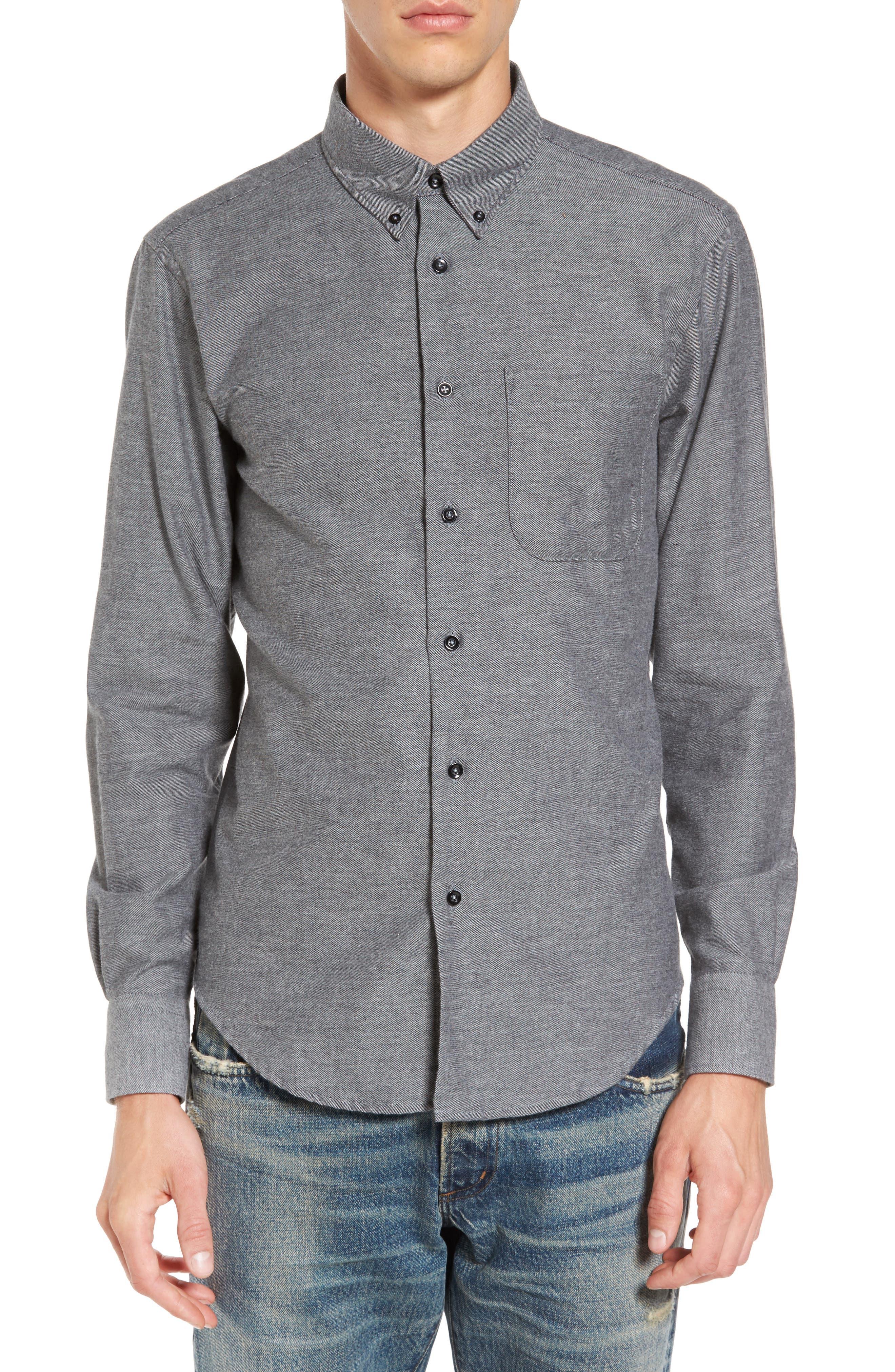 Twill Woven Shirt,                             Main thumbnail 1, color,                             030