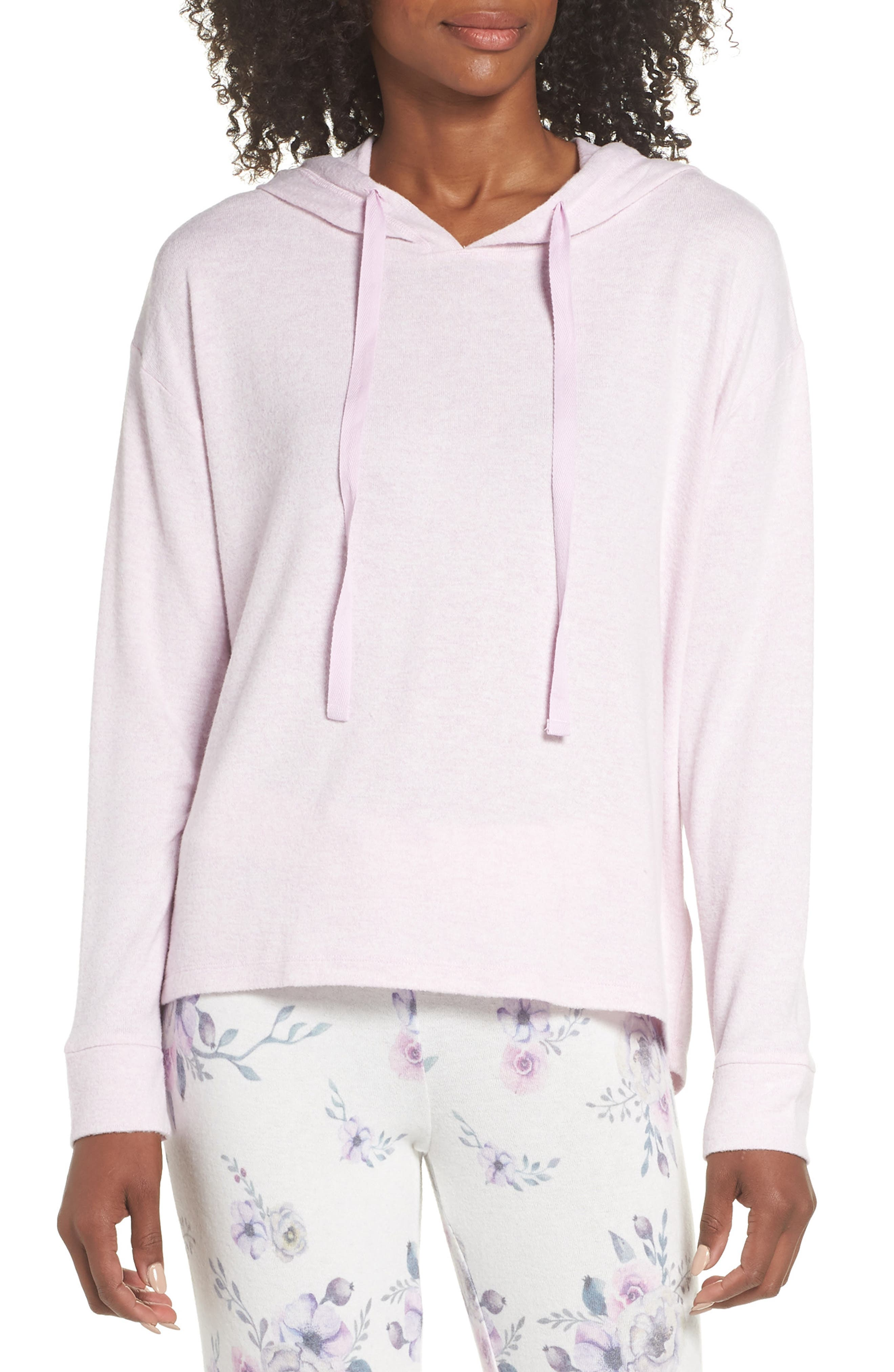 Pullover Hoodie,                         Main,                         color, LAVENDER