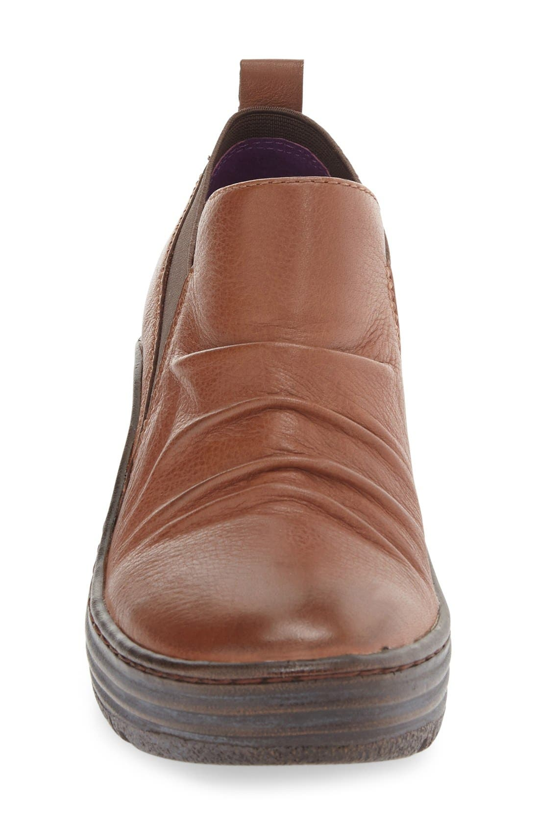 'Gallant' Leather Bootie,                             Alternate thumbnail 3, color,                             PINECONE LEATHER