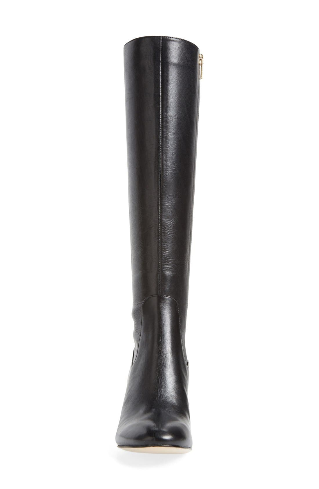 'Keana' Knee High Boot,                             Alternate thumbnail 4, color,                             001