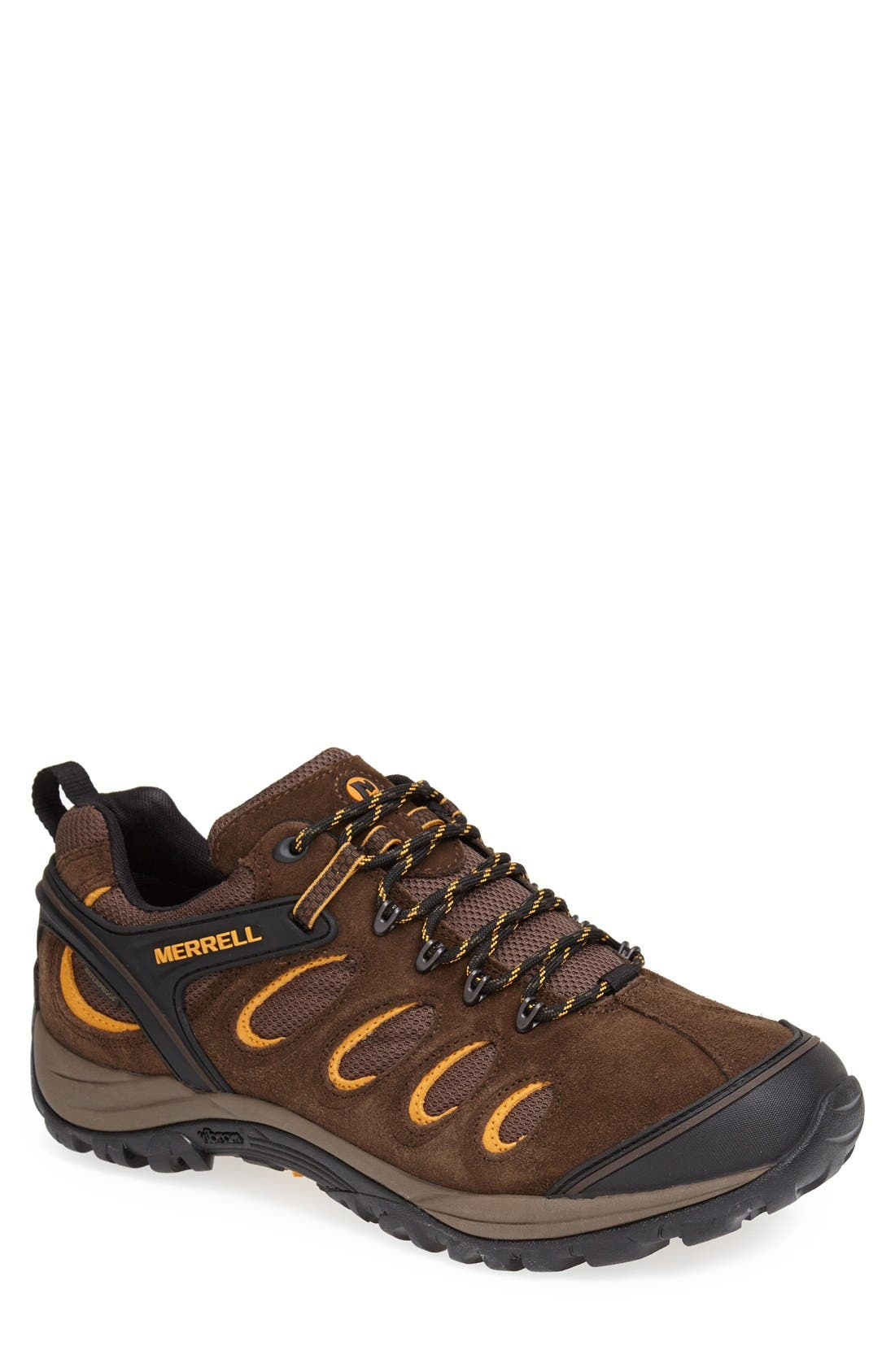 'Chameleon 5' Waterproof Hiking Shoe, Main, color, 200