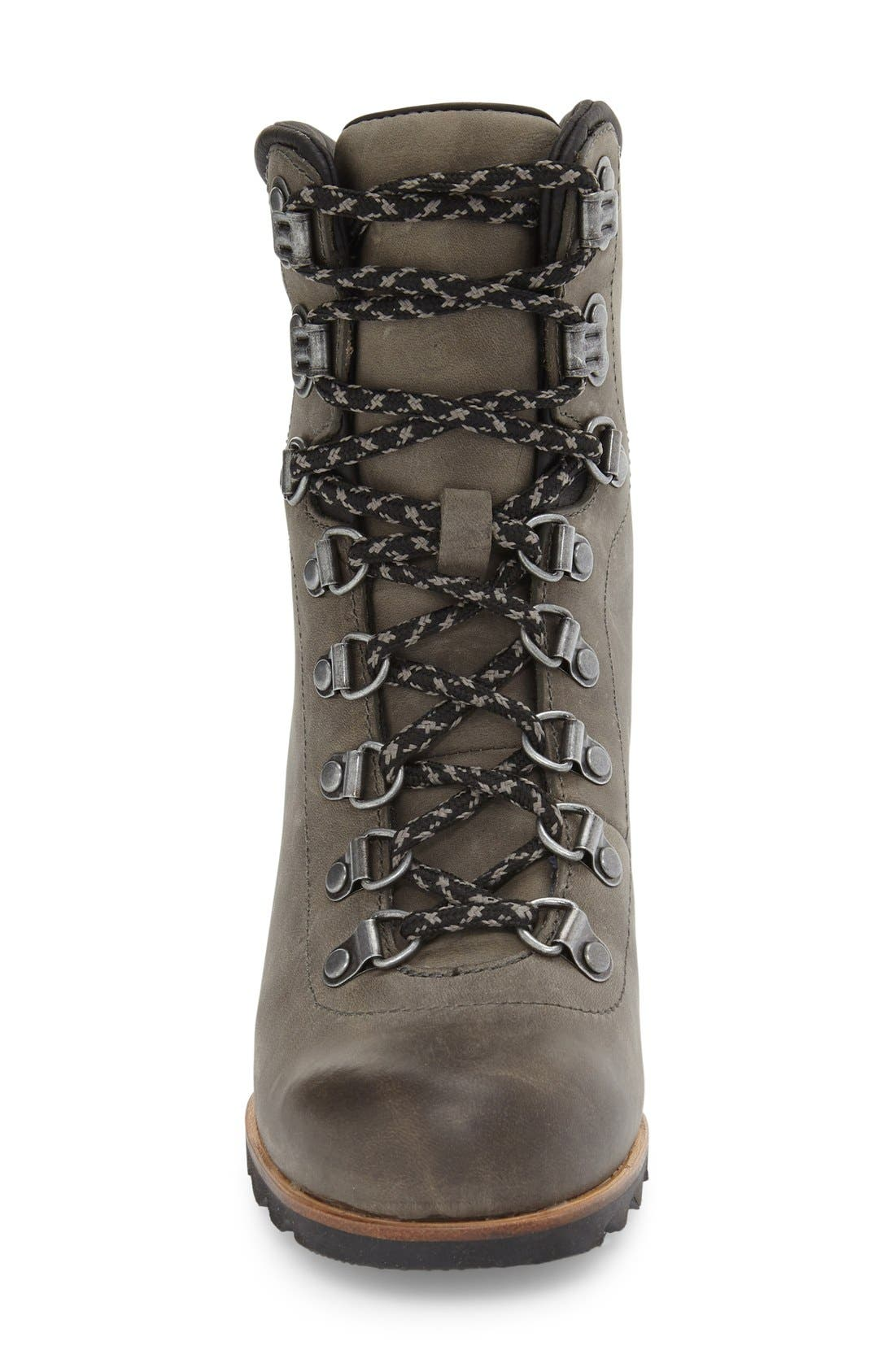 'Conquest' Waterproof Wedge Boot,                             Alternate thumbnail 23, color,