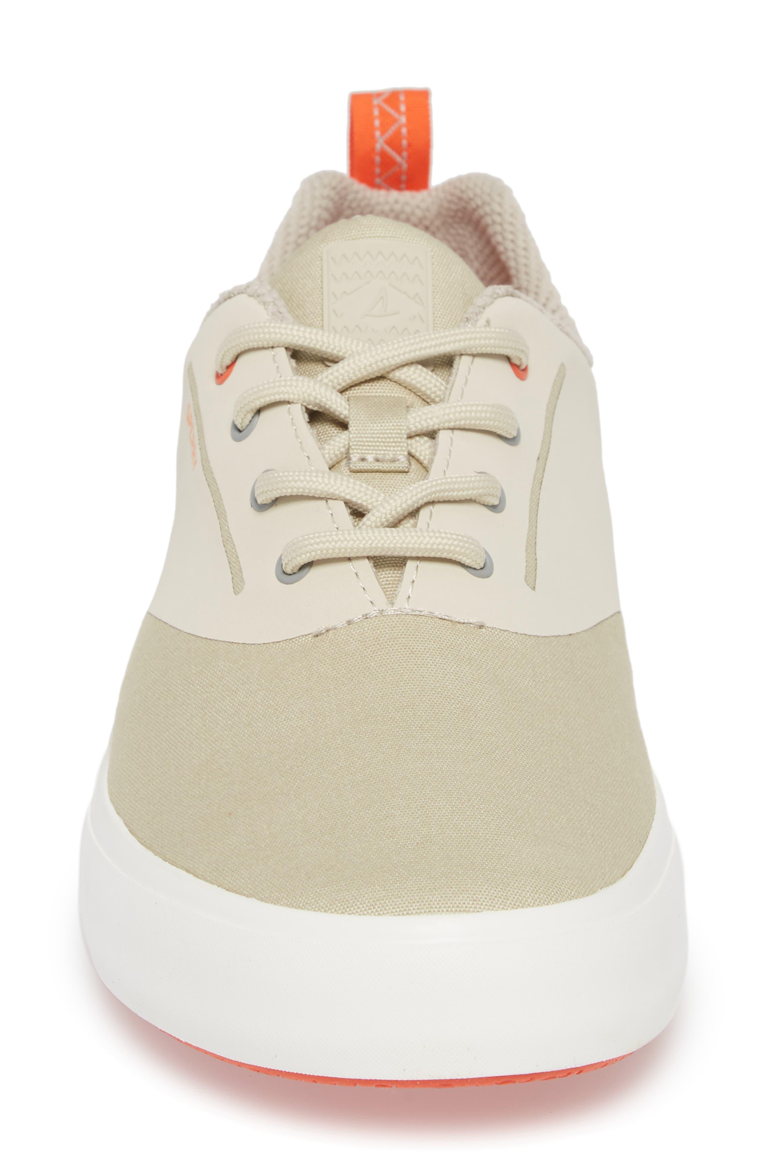 Flex Deck CVO Sneaker,                             Alternate thumbnail 4, color,                             BEIGE